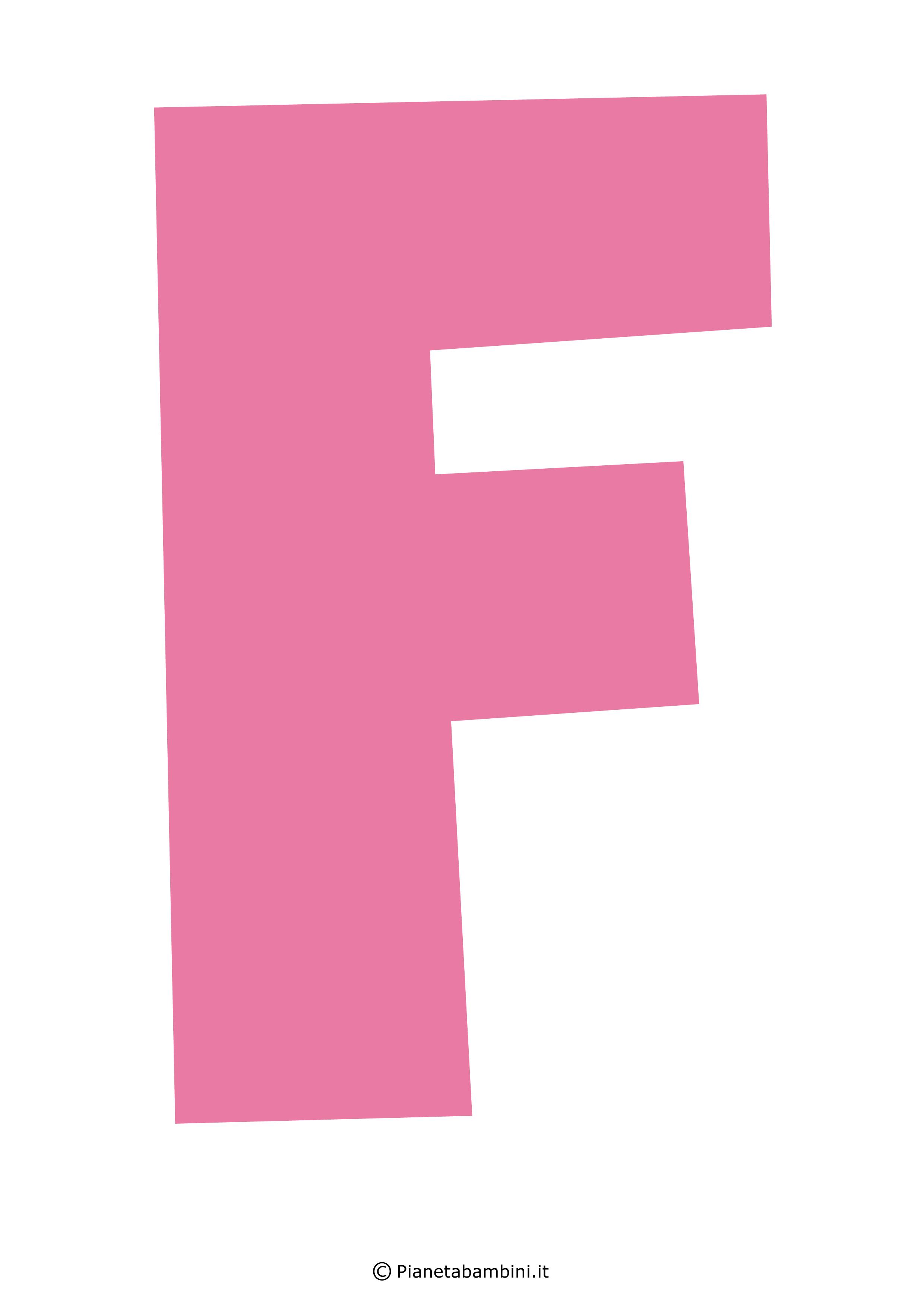 Lettera-F-Rosa