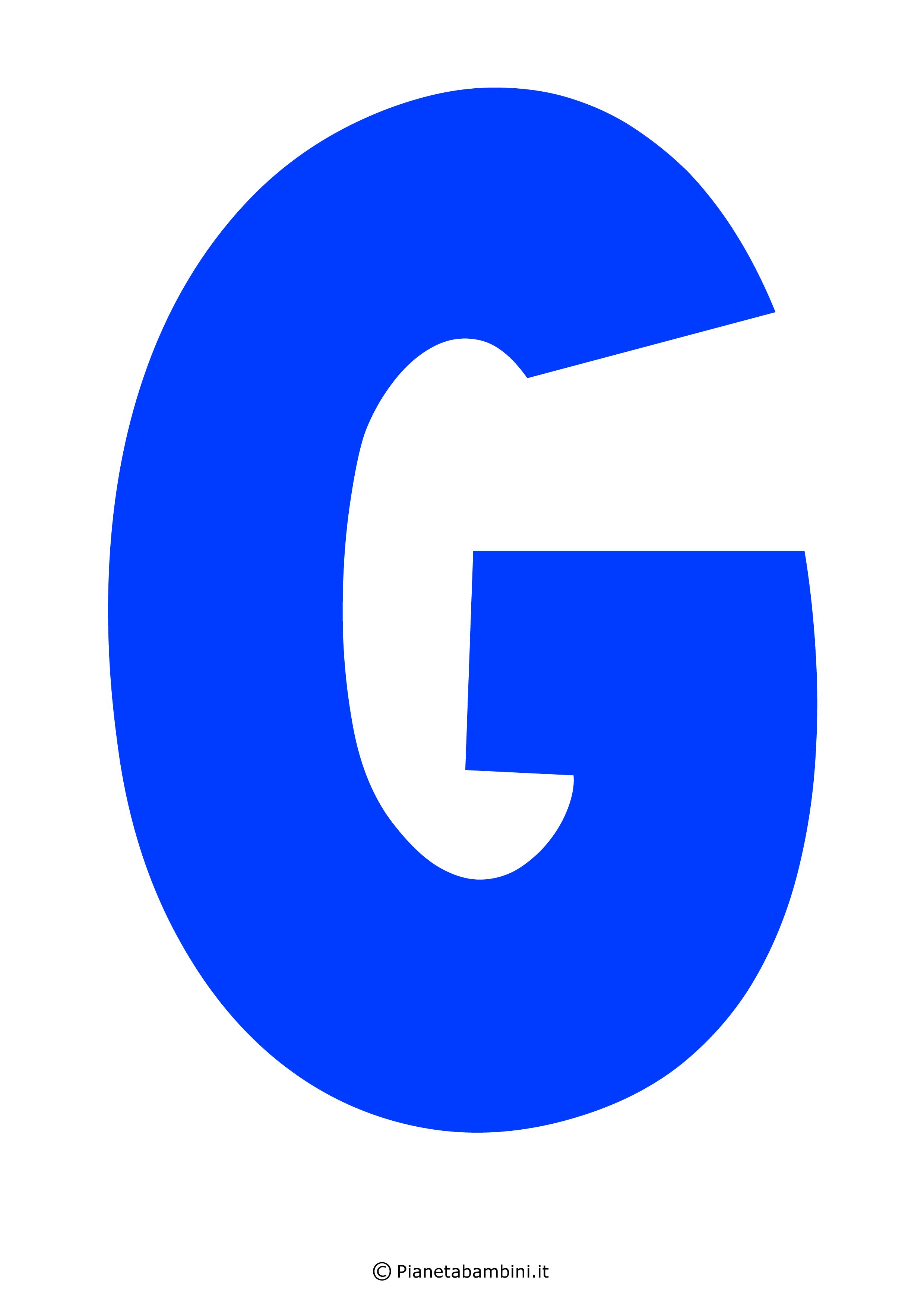 Lettera-G-Blu