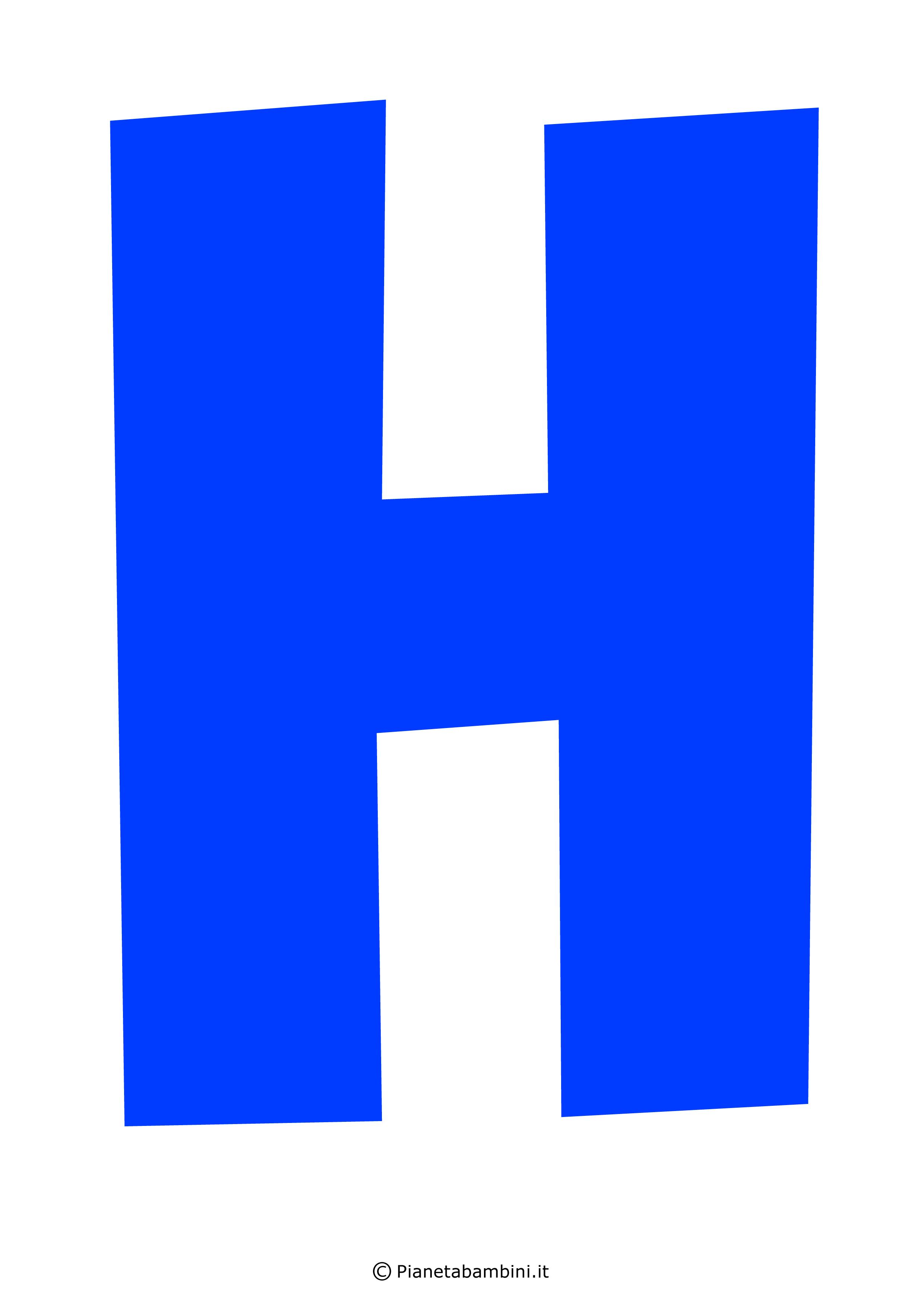 Lettera-H-Blu