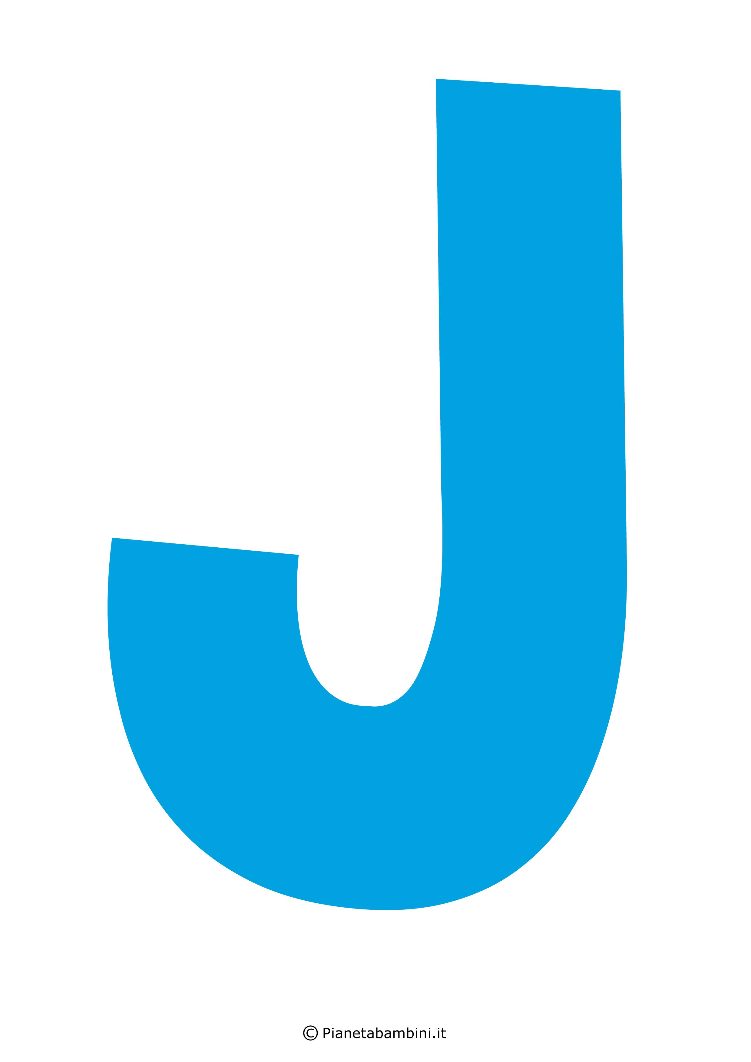 Lettera-J-Azzurra
