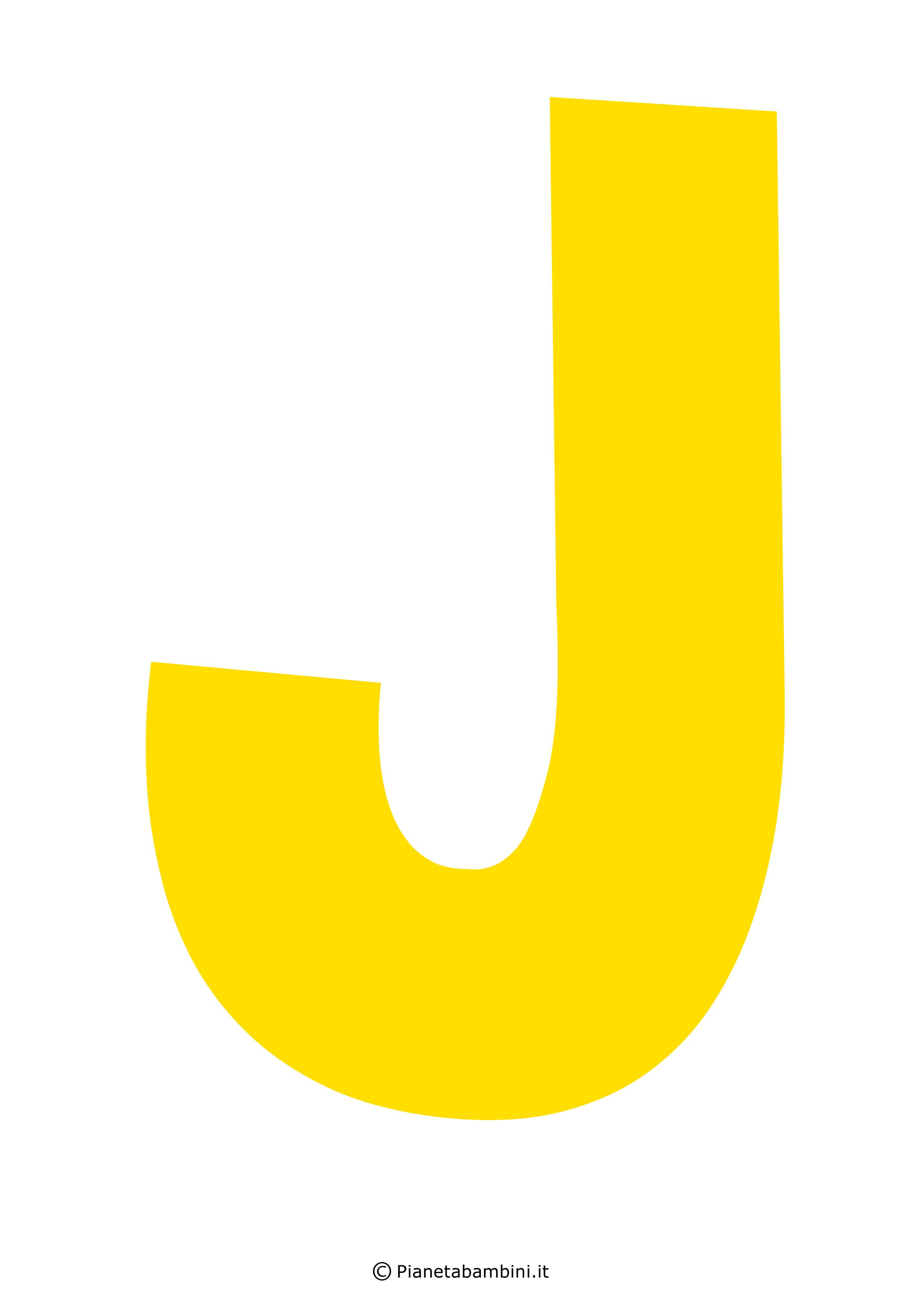 Lettera-J-Gialla