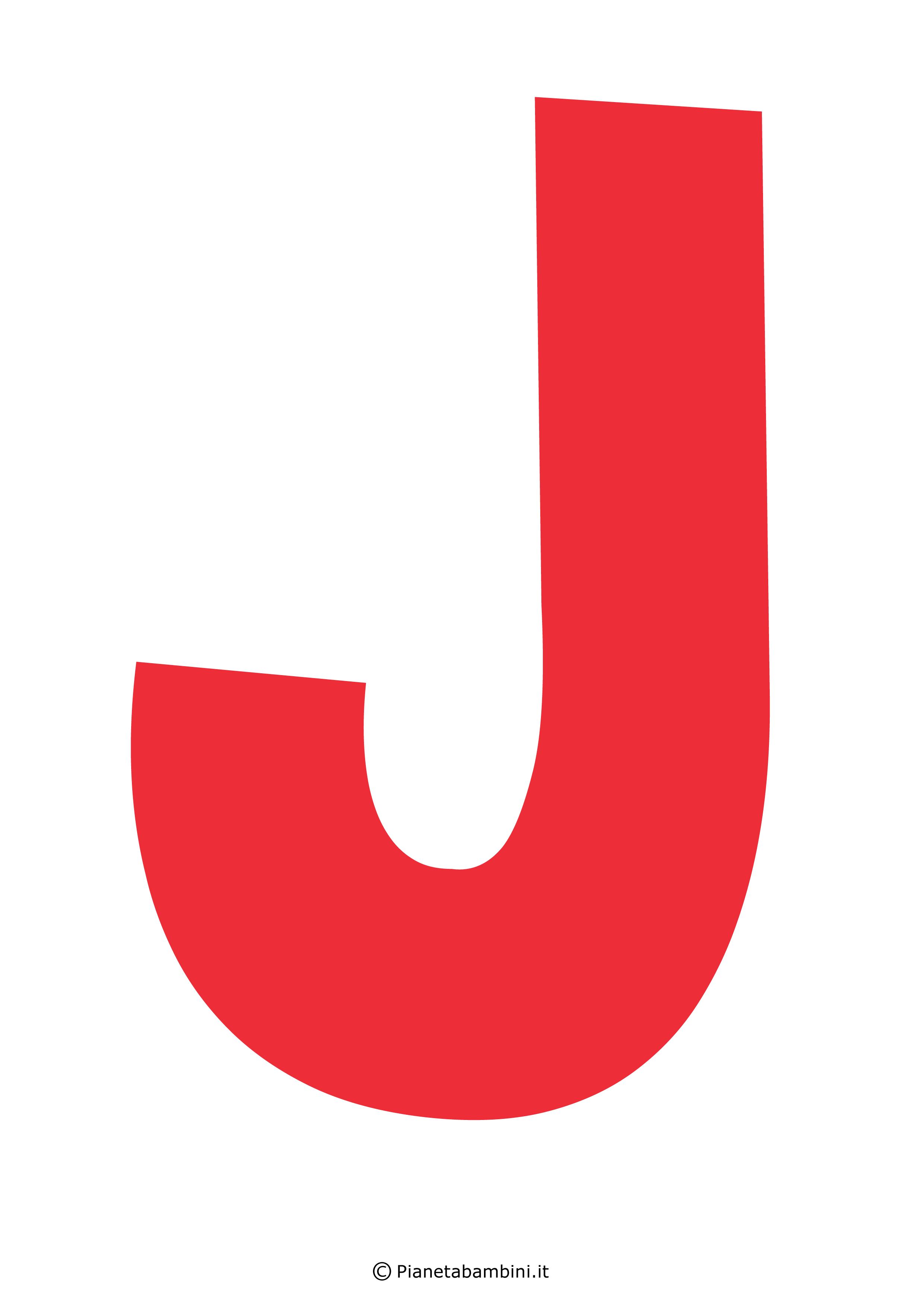 Lettera-J-Rossa