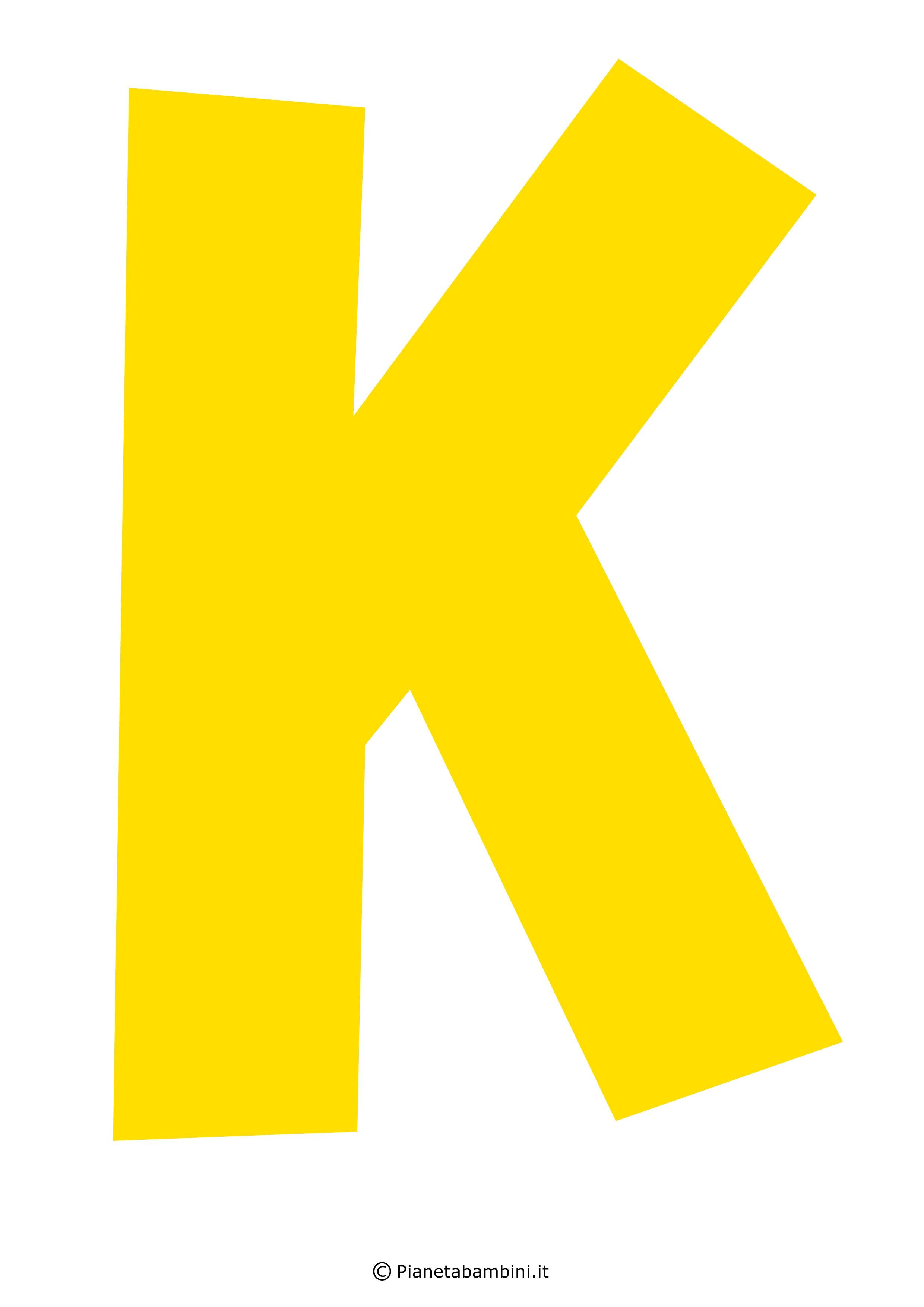 Lettera-K-Gialla