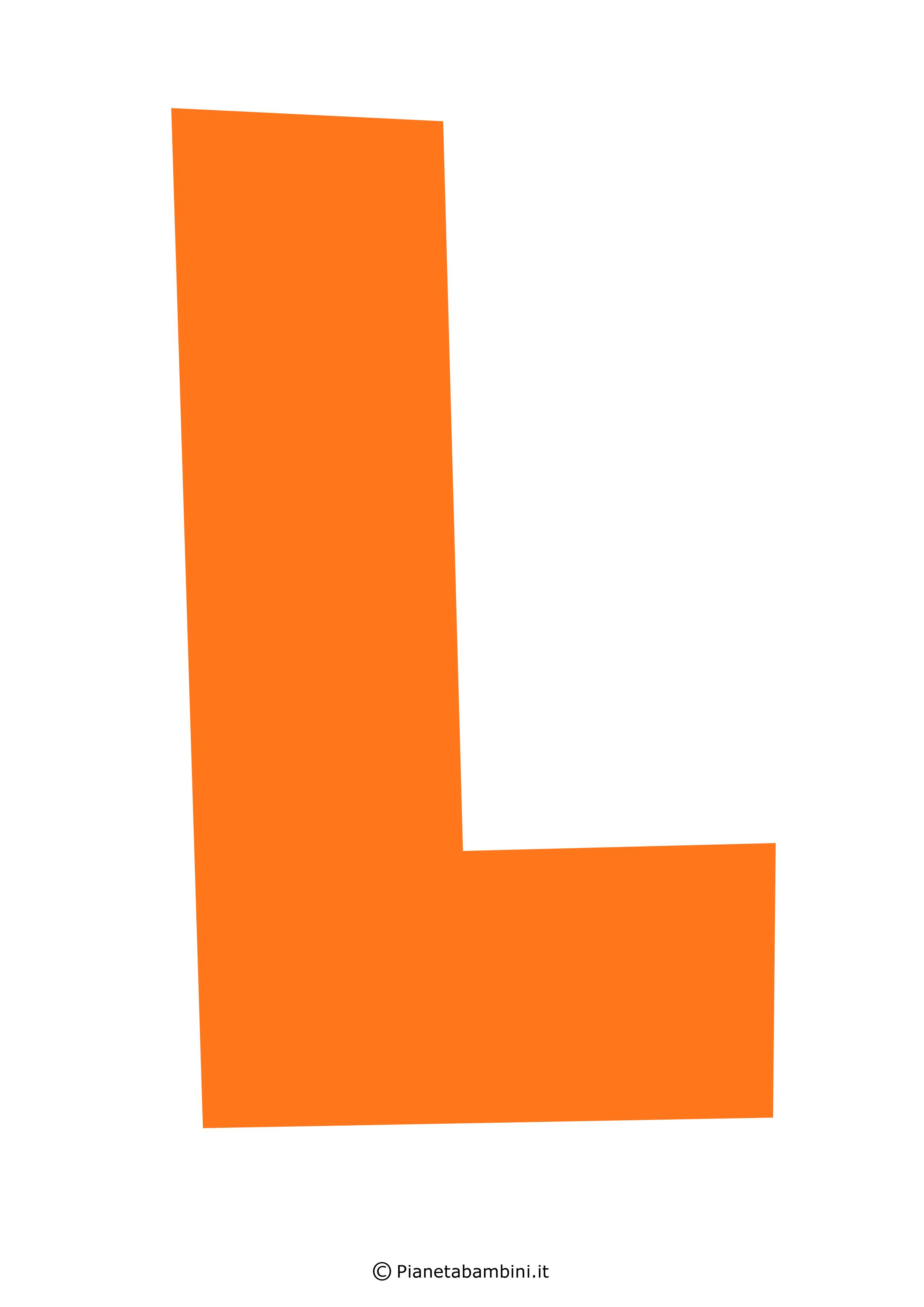 Lettera-L-Arancione