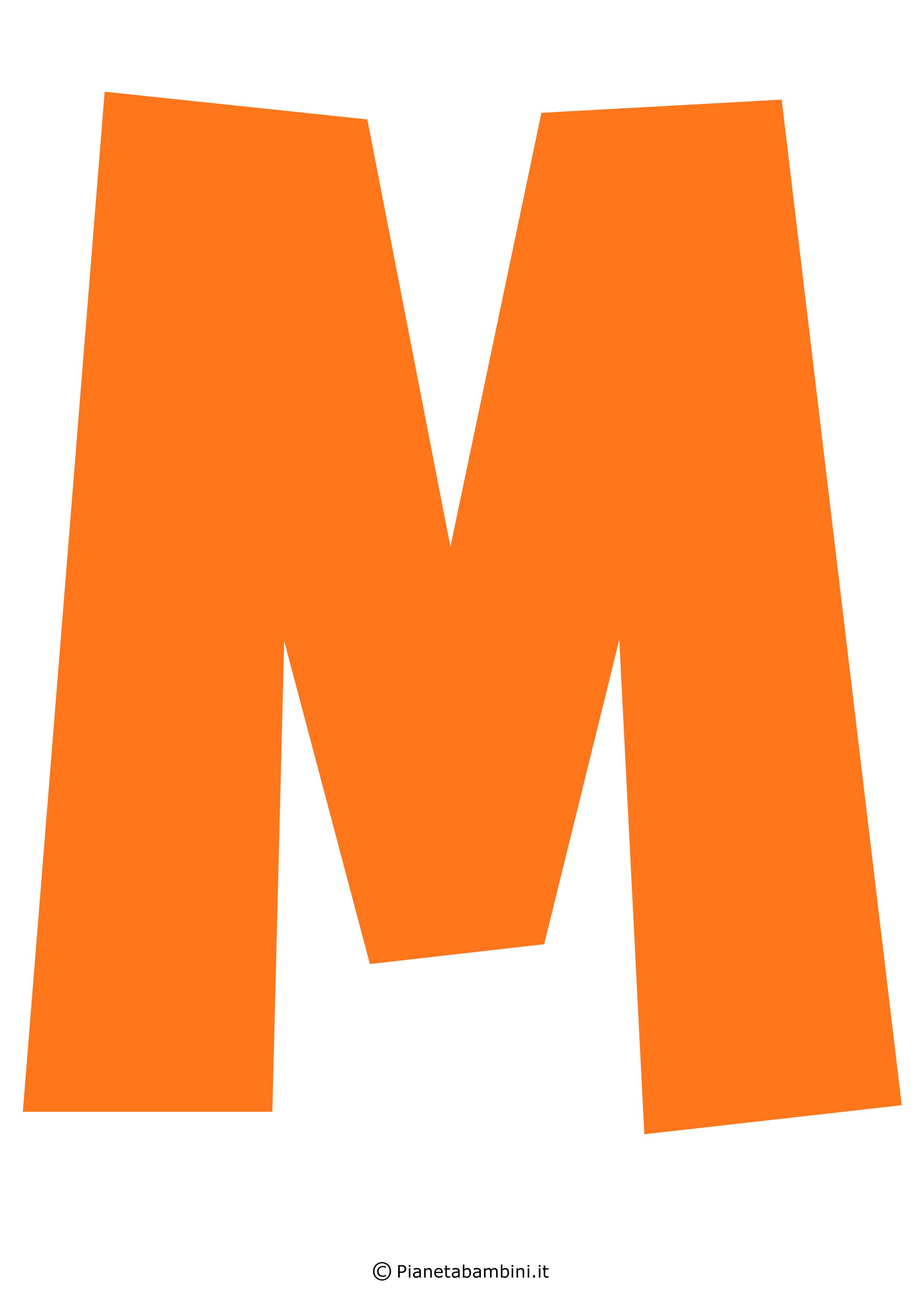 Lettera-M-Arancione