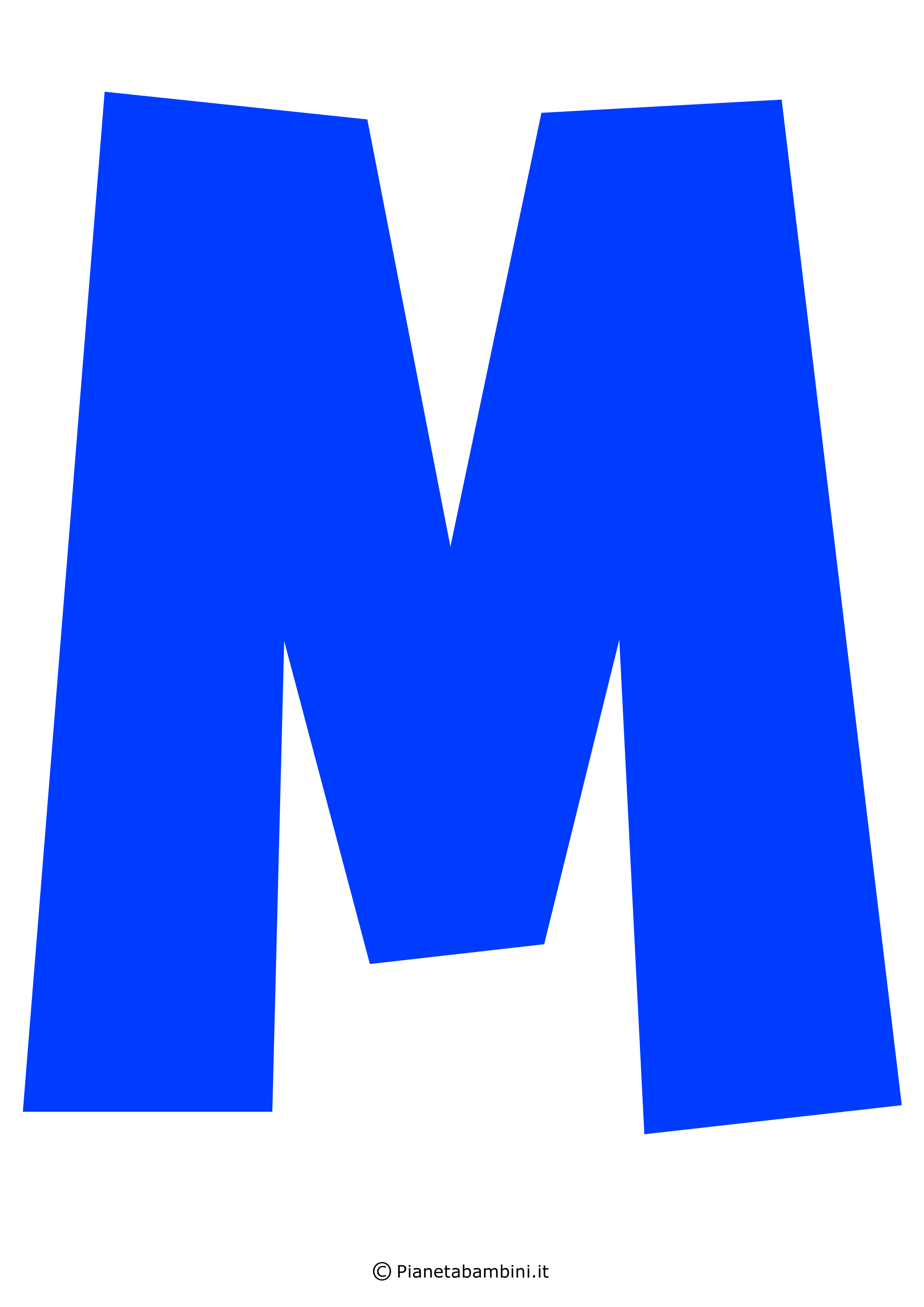 Lettera-M-Blu