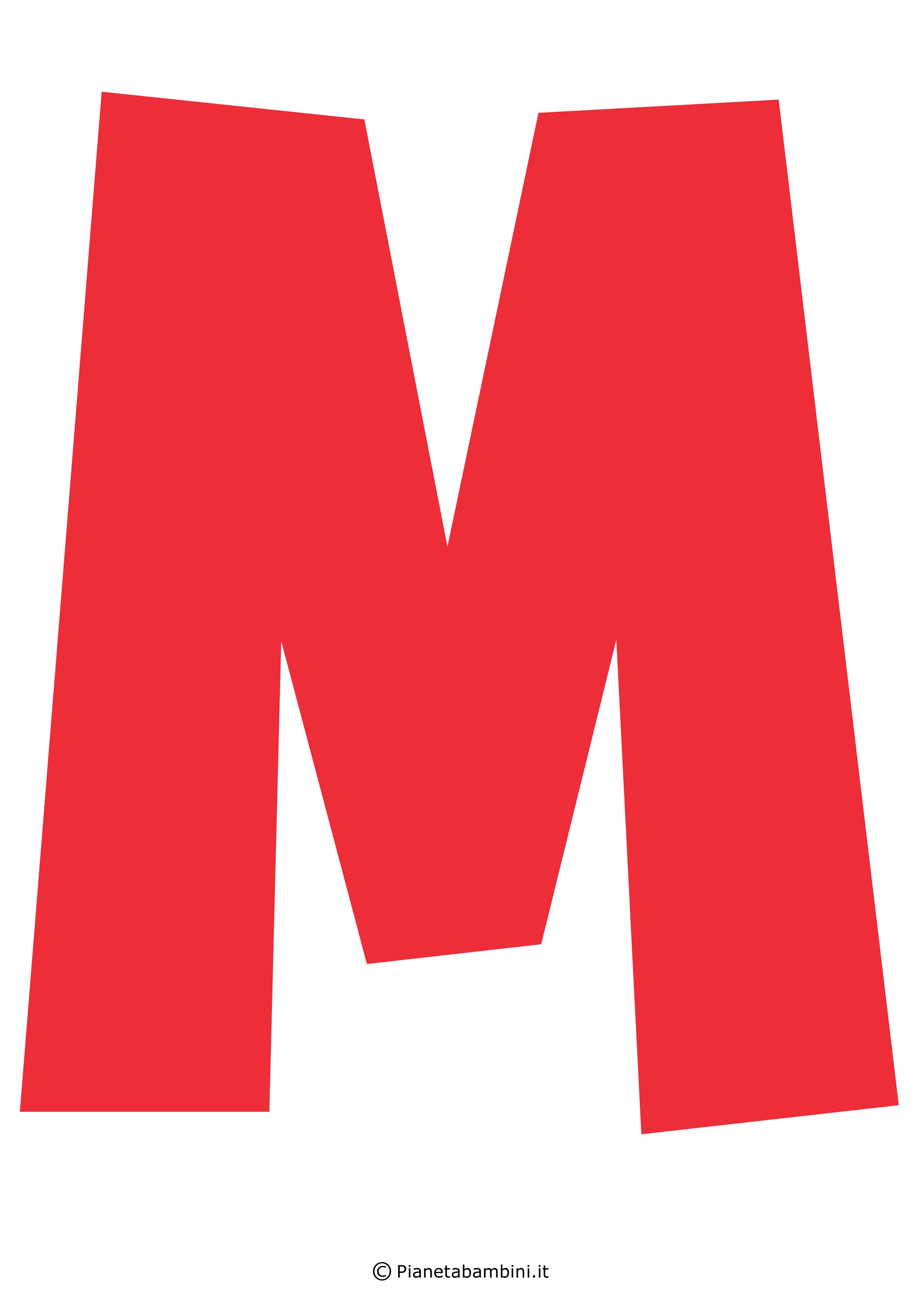 Lettera-M-Rossa