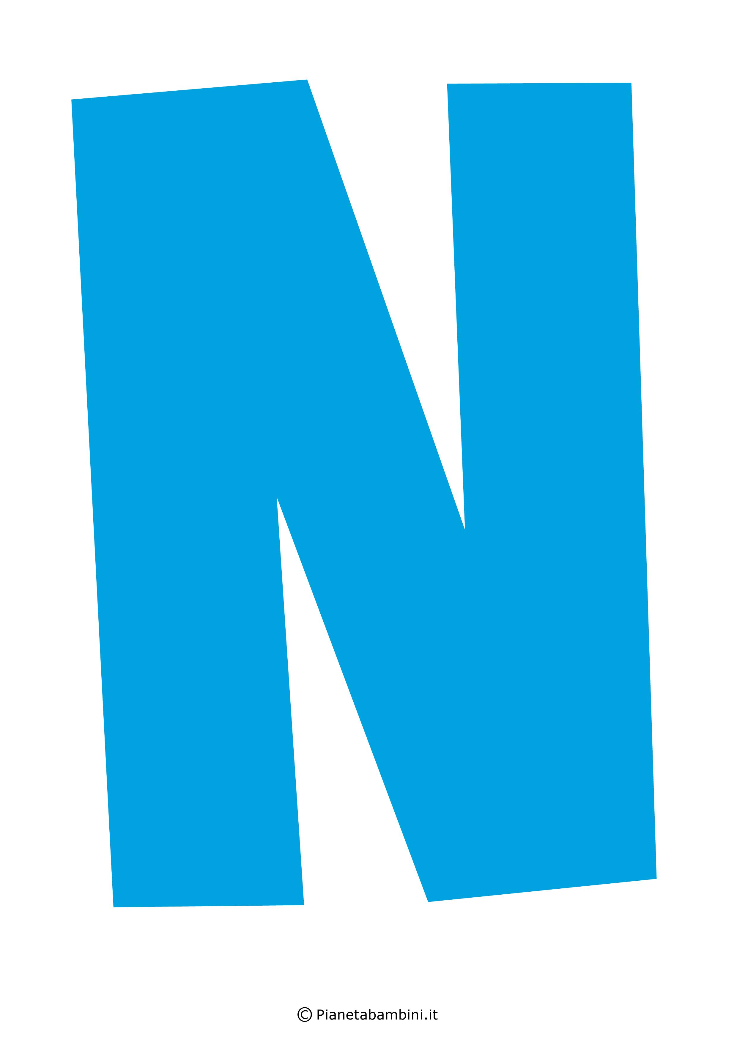 Lettera-N-Azzurra