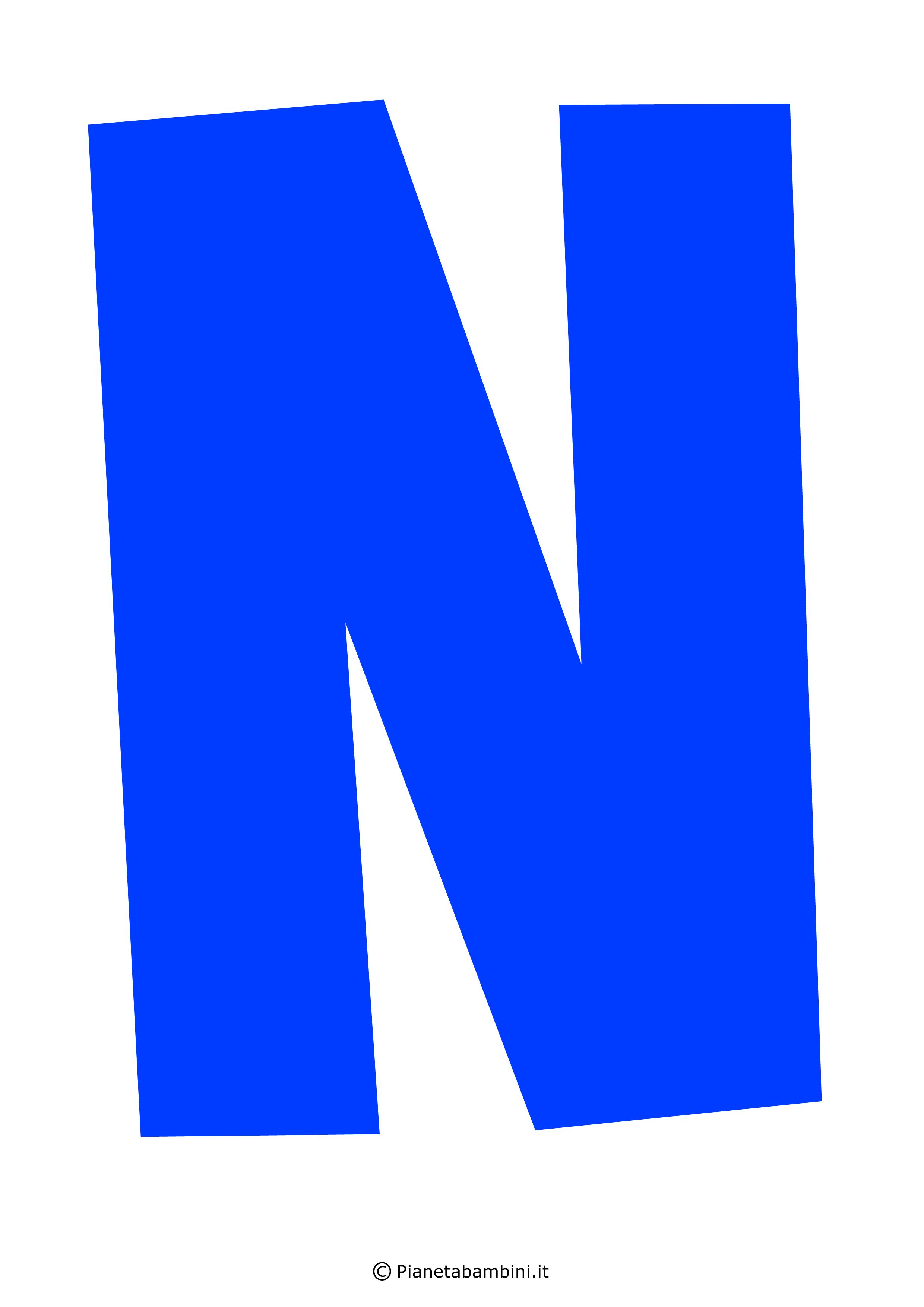 Lettera-N-Blu