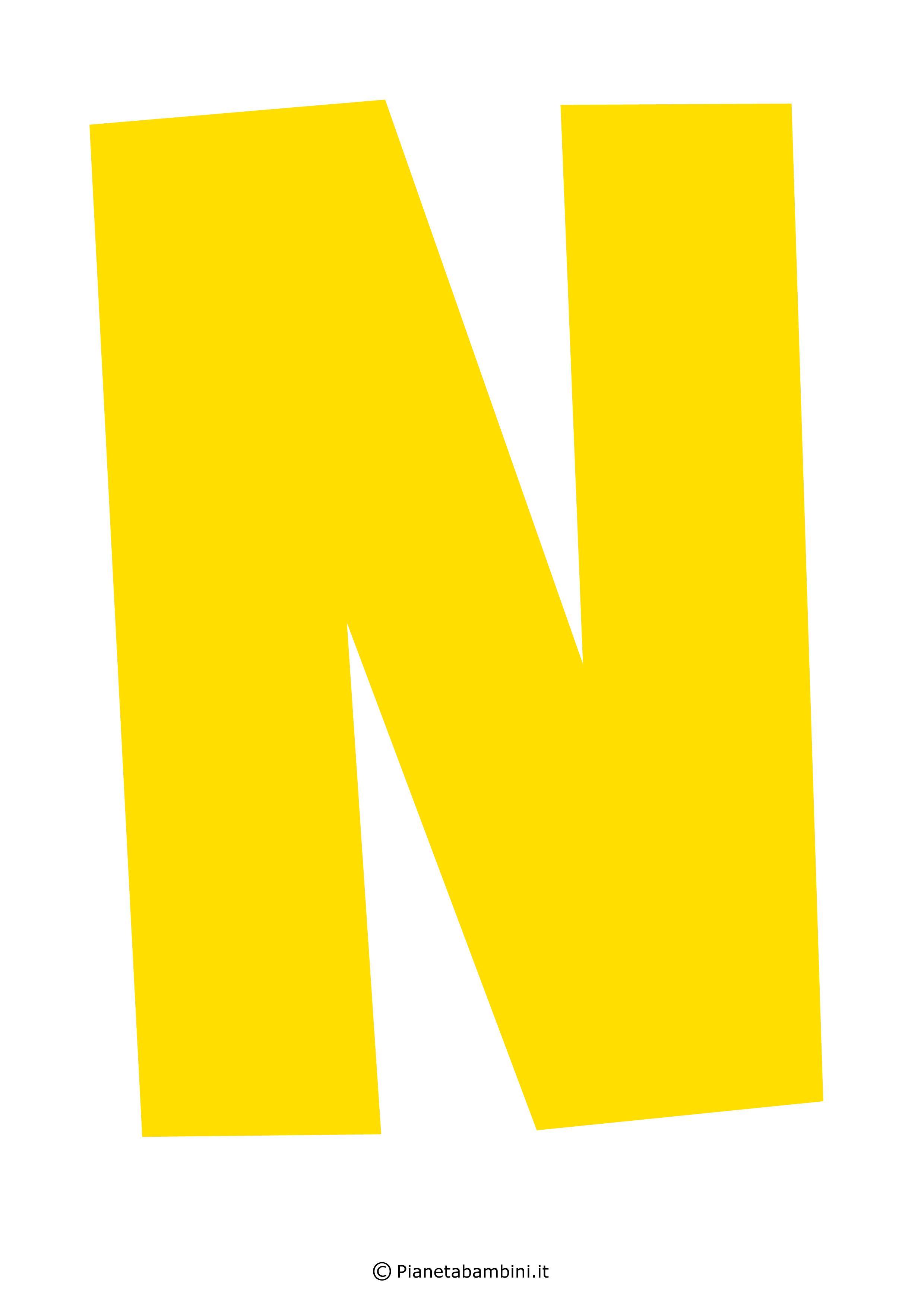 Lettera-N-Gialla