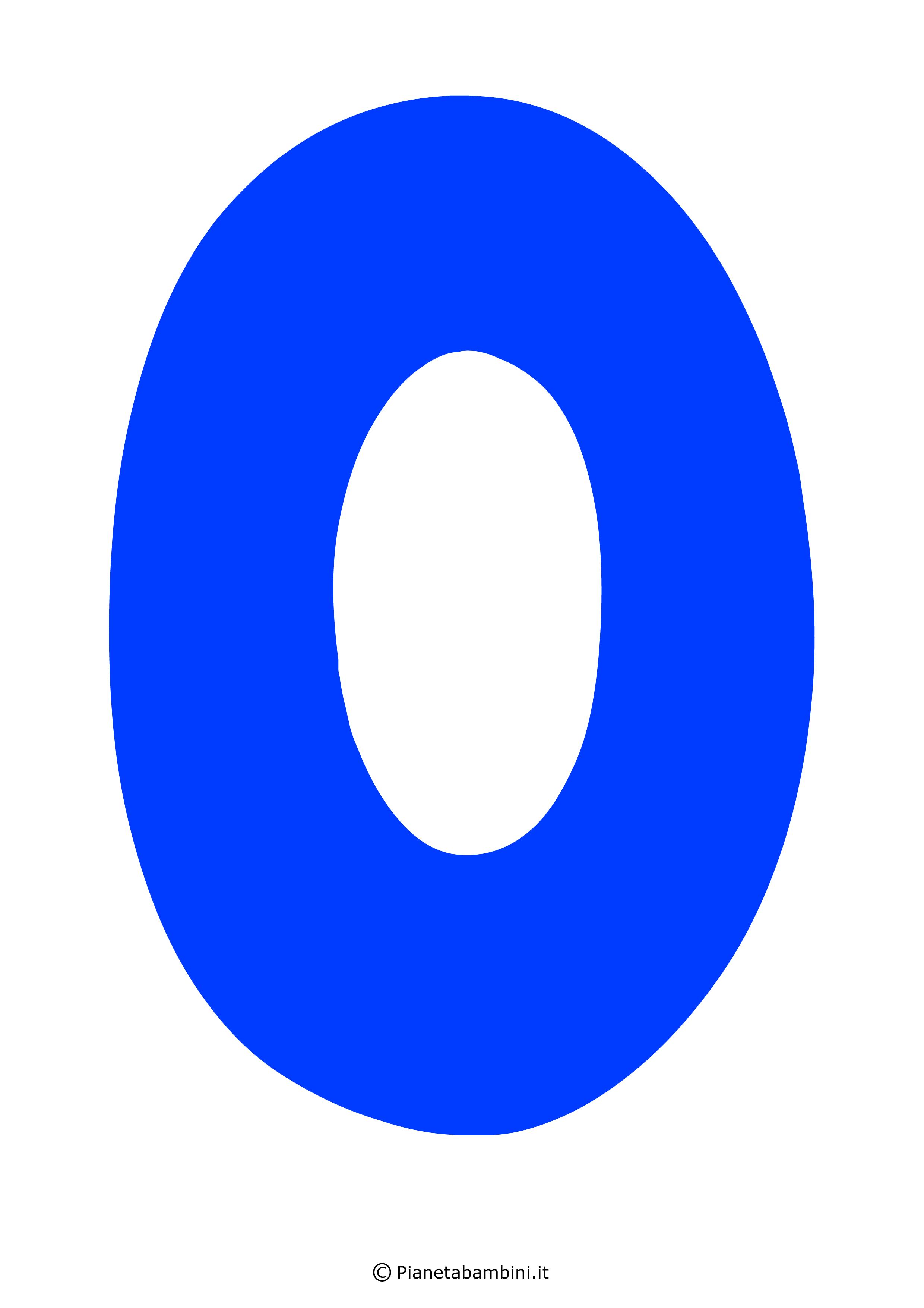 Lettera-O-Blu