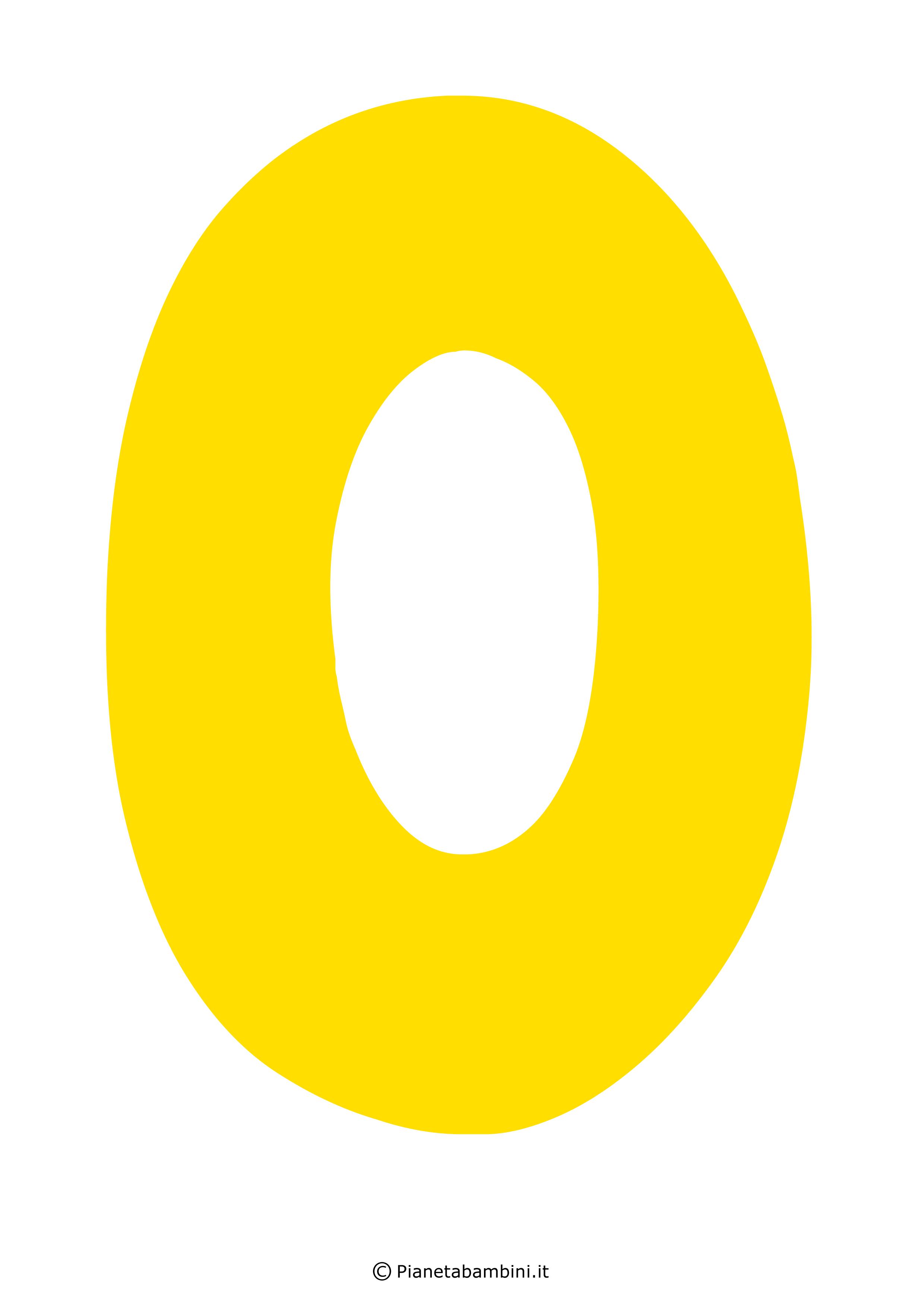 Lettera-O-Gialla