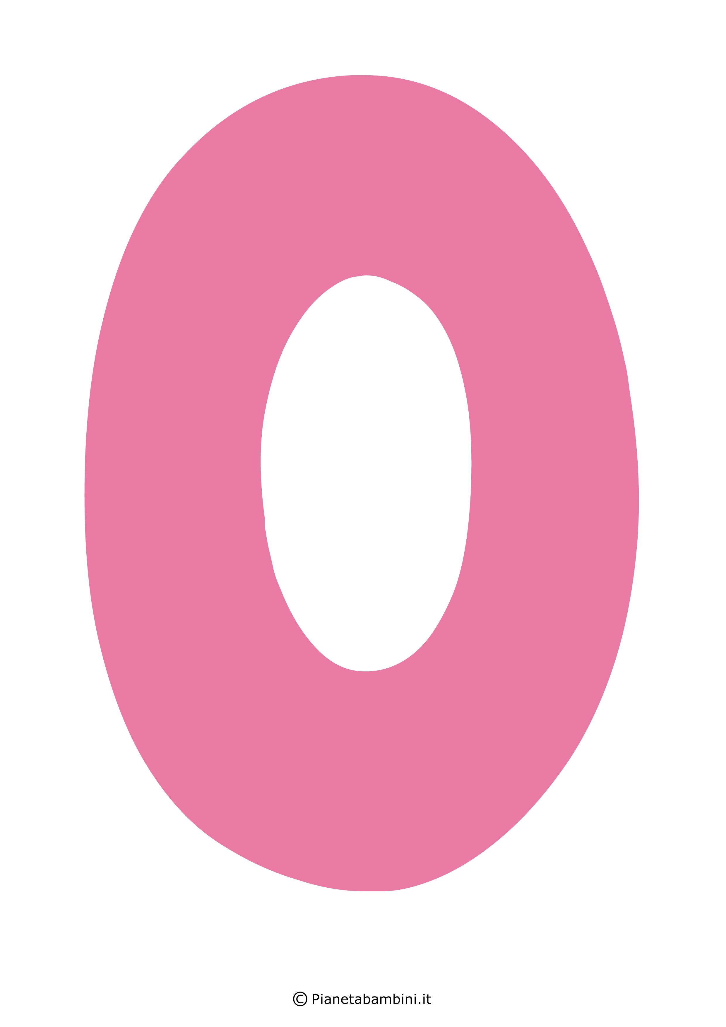 Lettera-O-Rosa