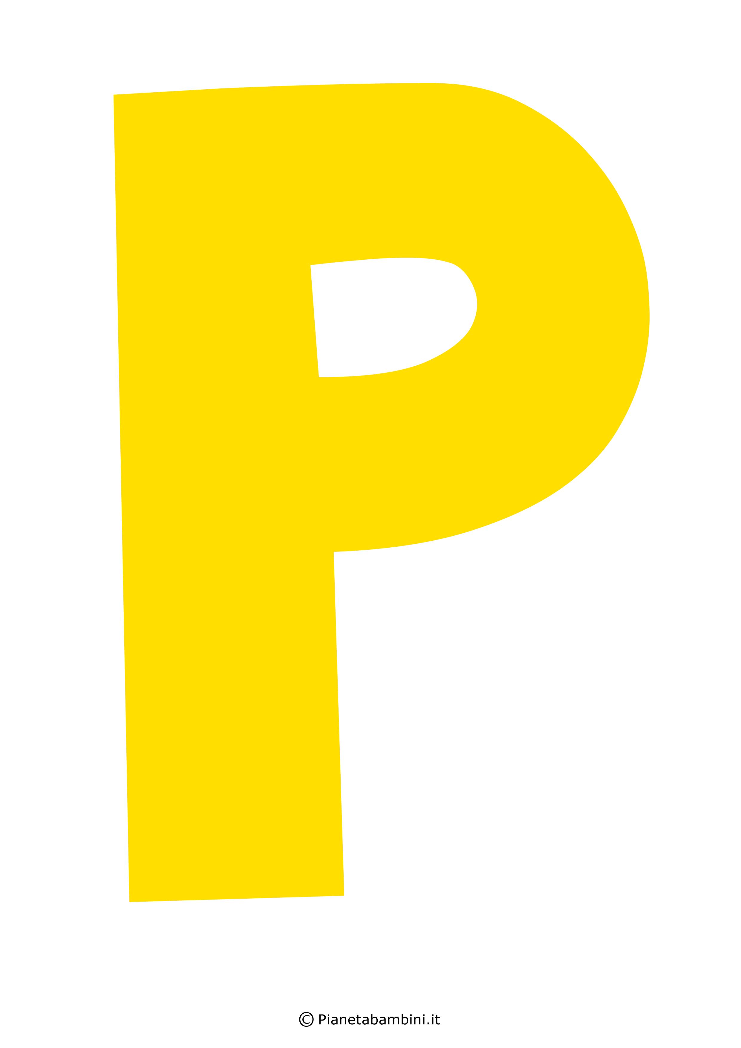 Lettera-P-Gialla