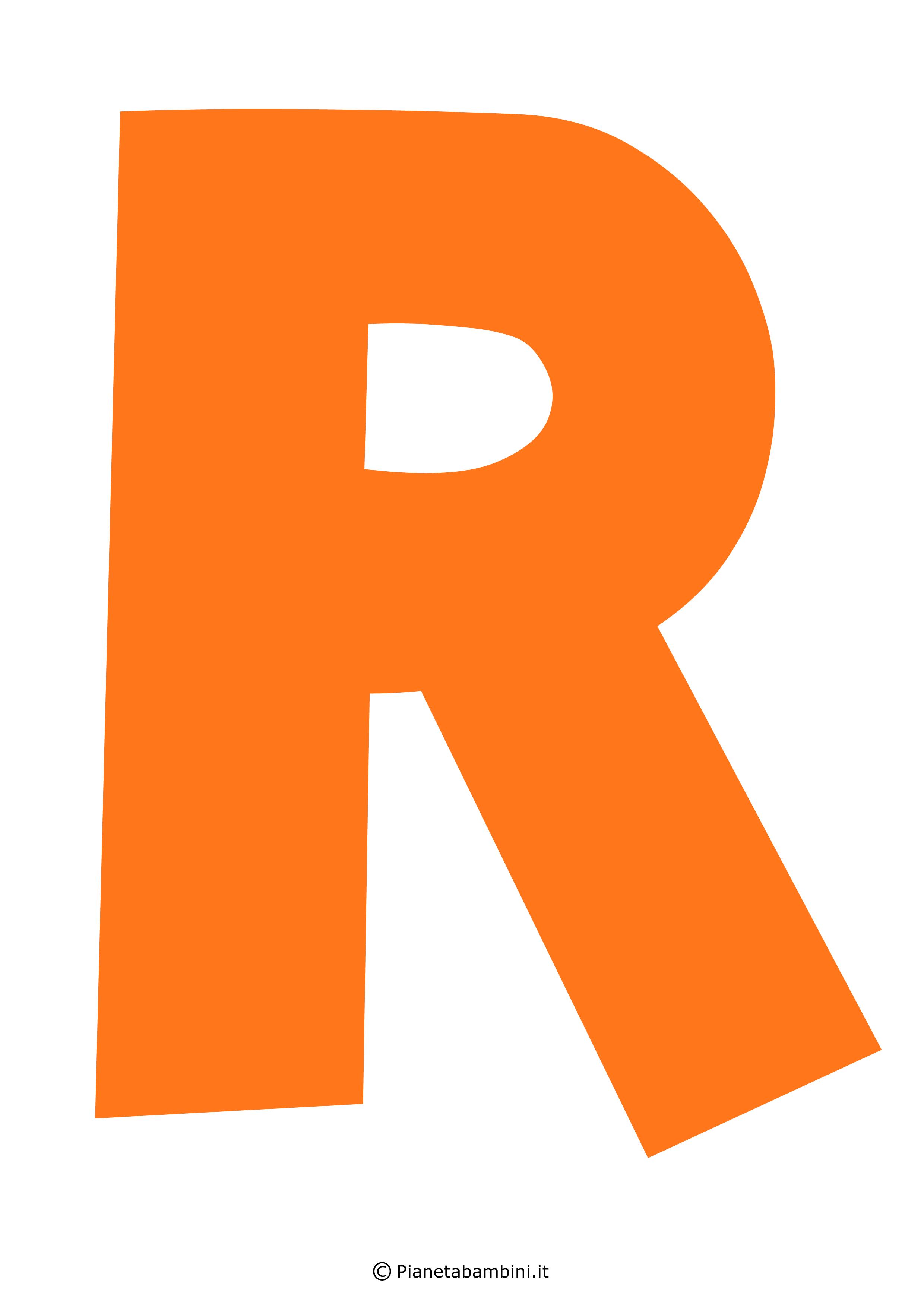 Lettera-R-Arancione