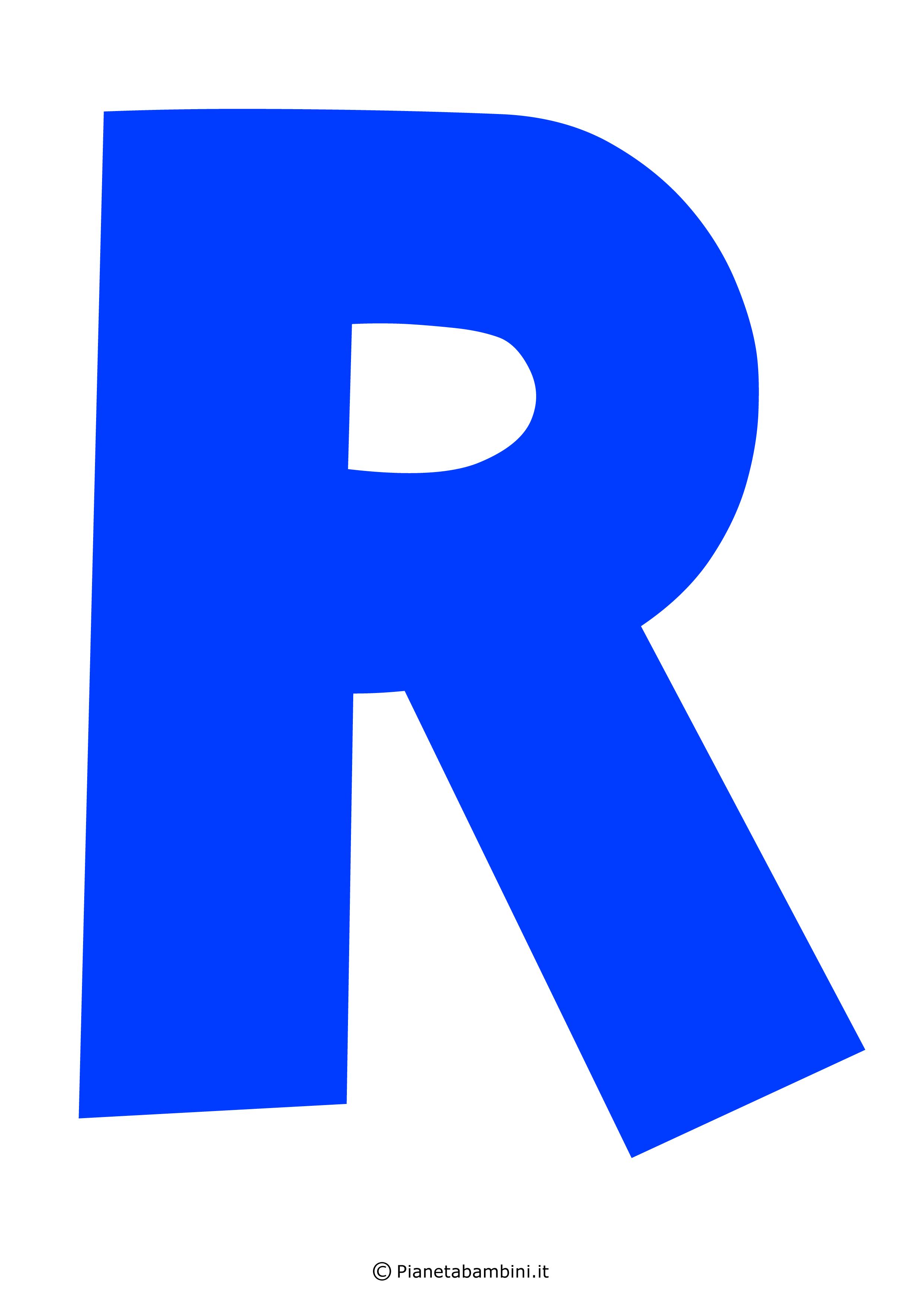 Lettera-R-Blu
