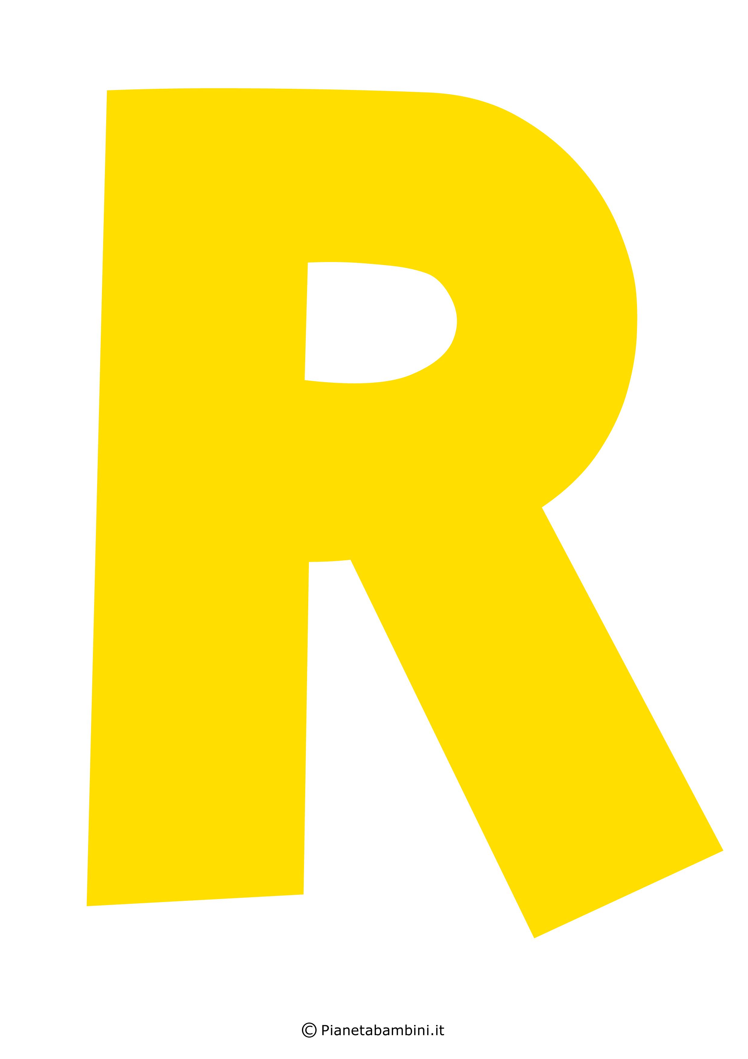 Lettera-R-Gialla