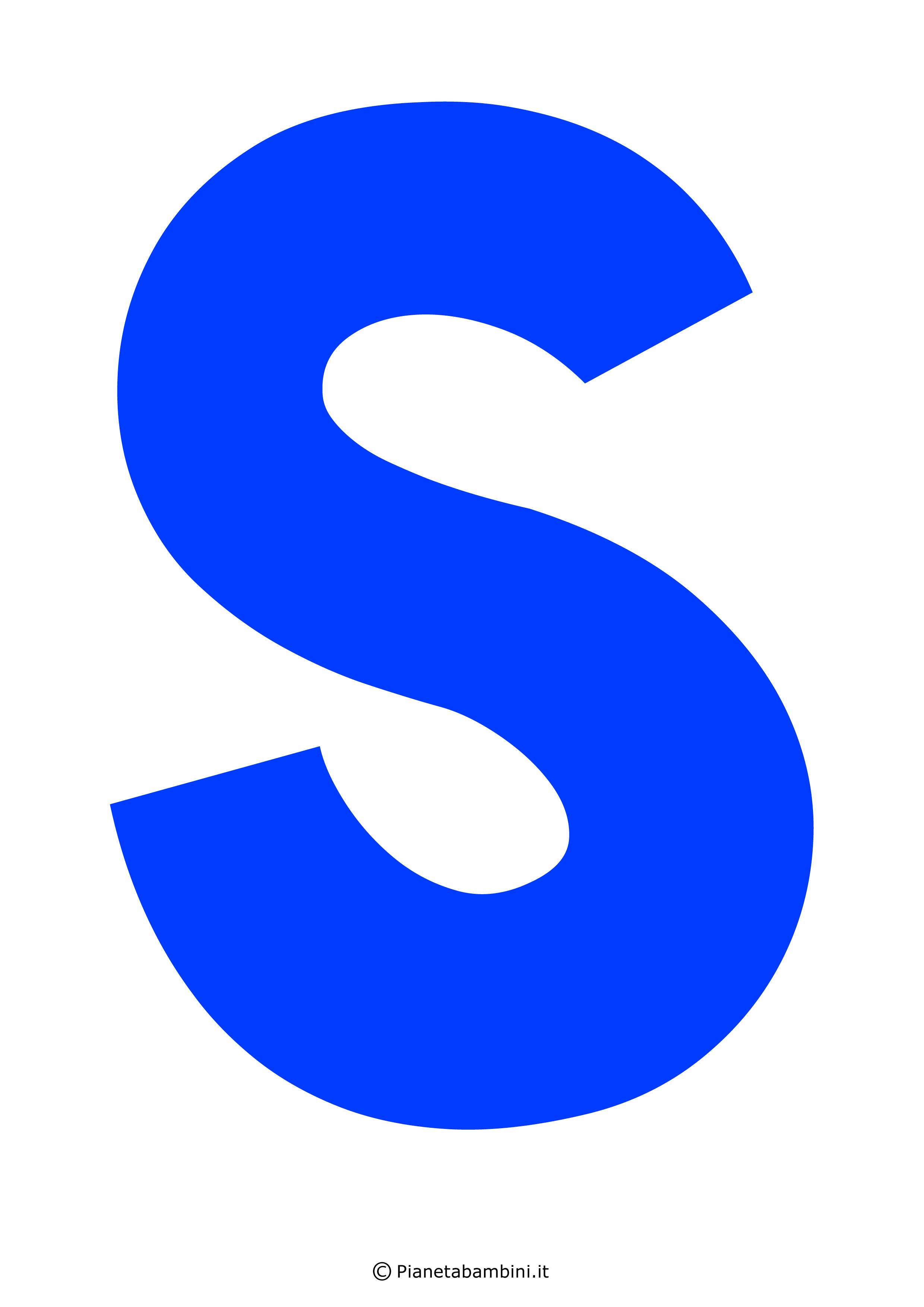 Lettera-S-Blu