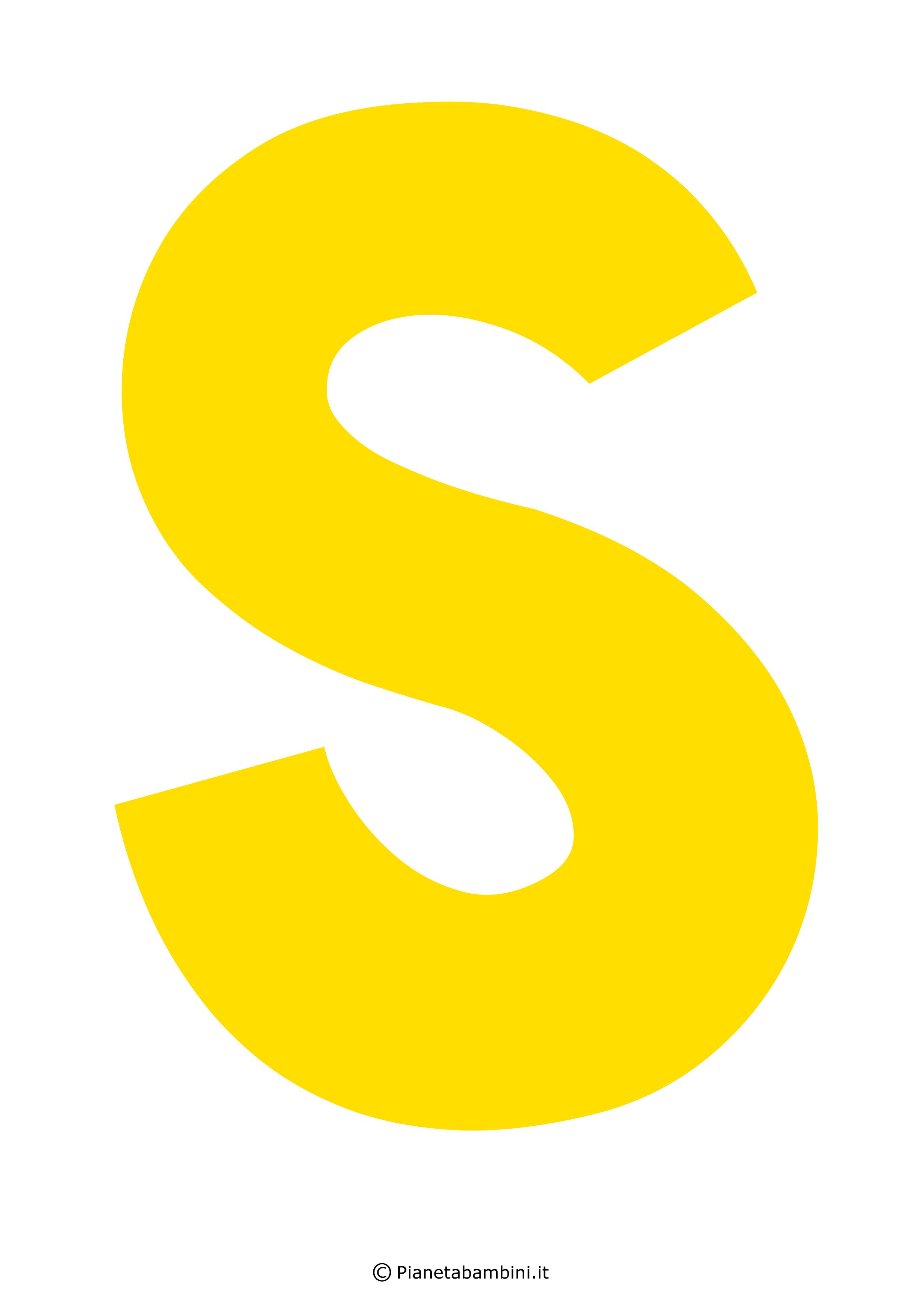 Lettera-S-Gialla