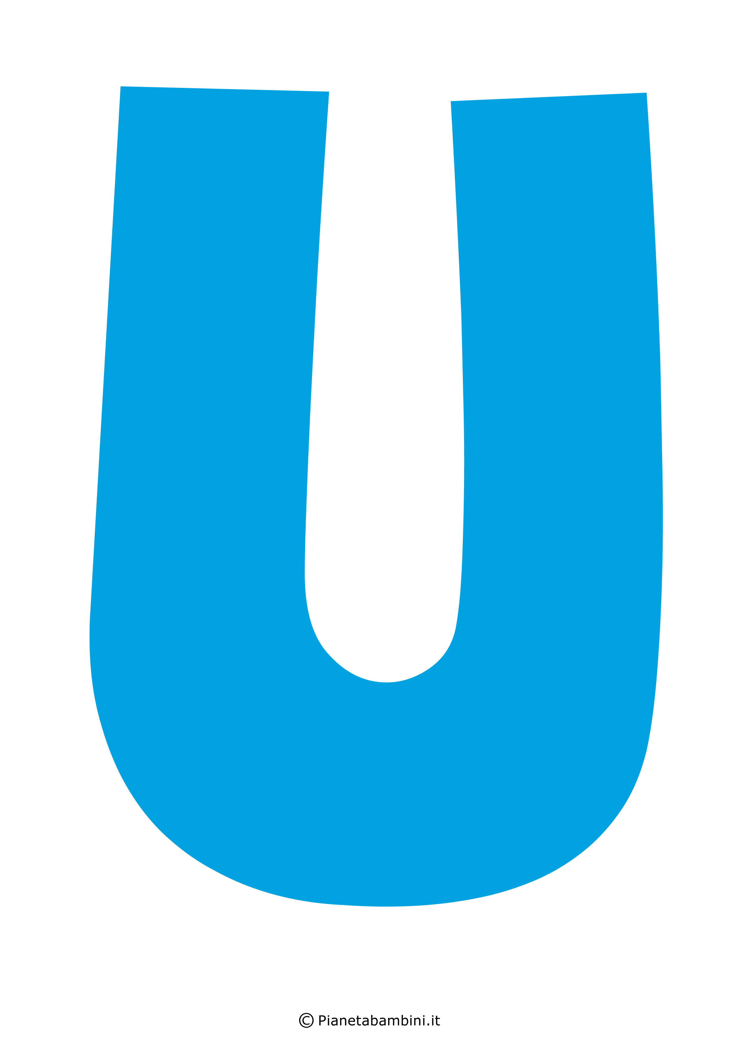 Lettera-U-Azzurra