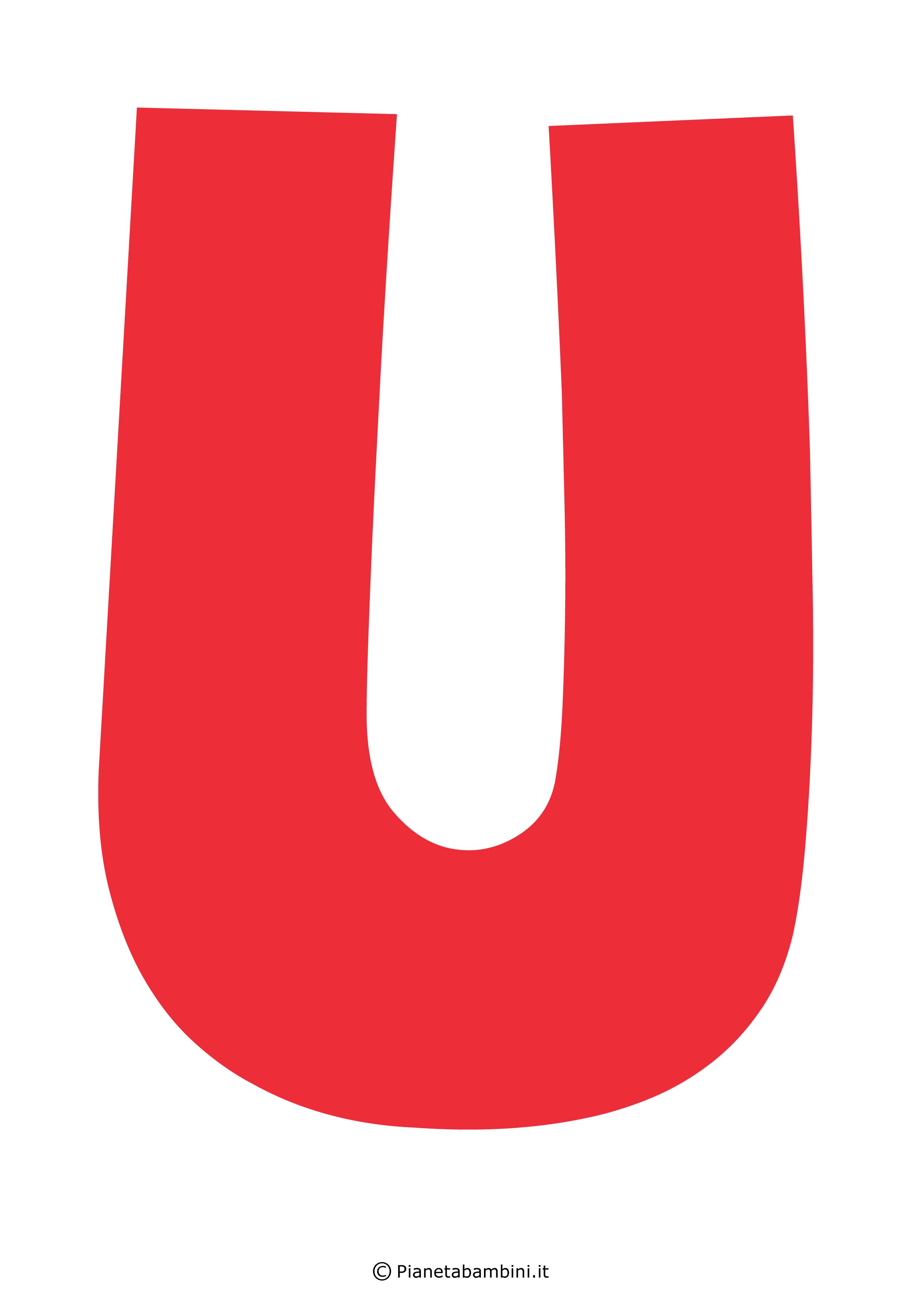 Lettera-U-Rossa