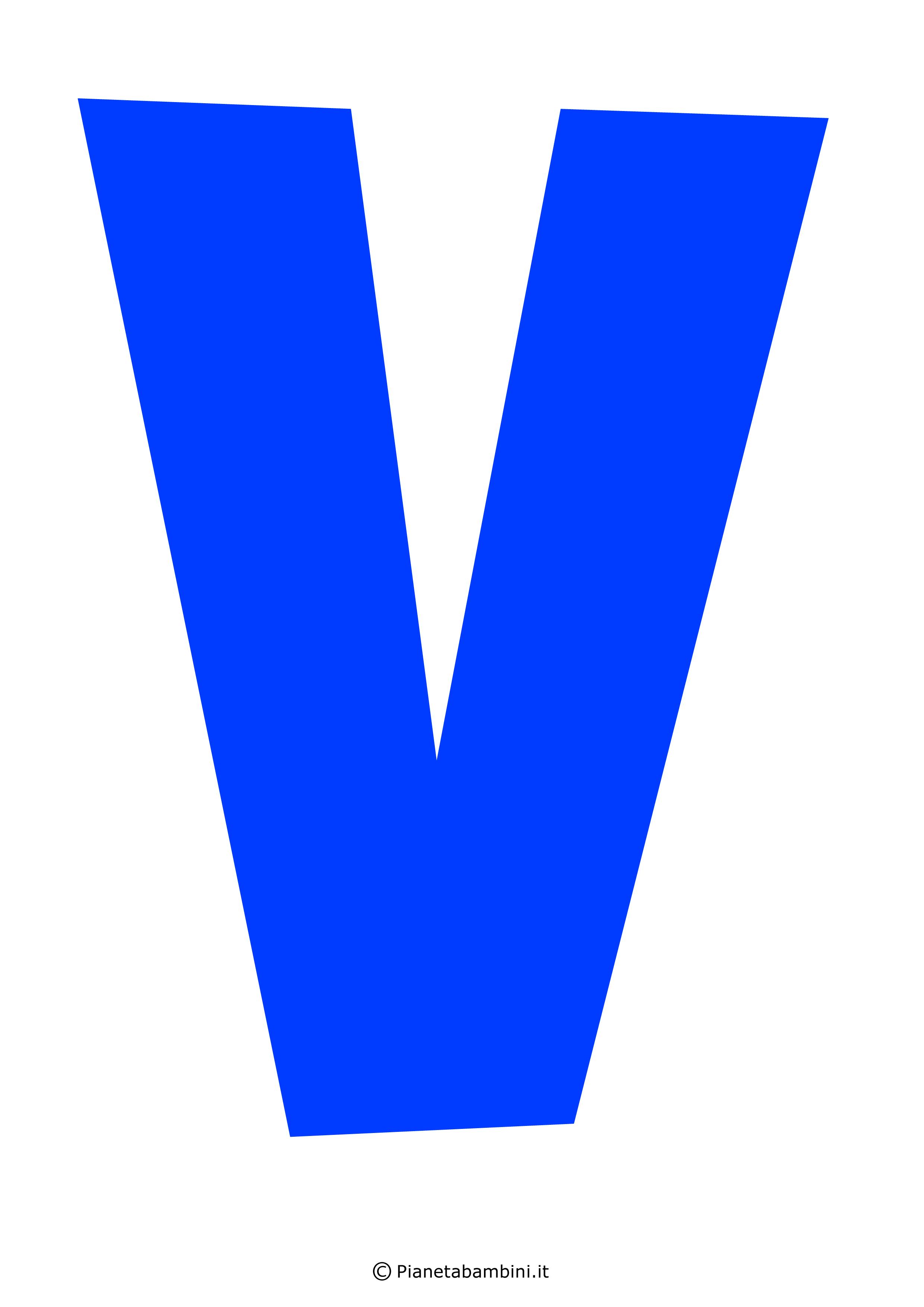Lettera-V-Blu