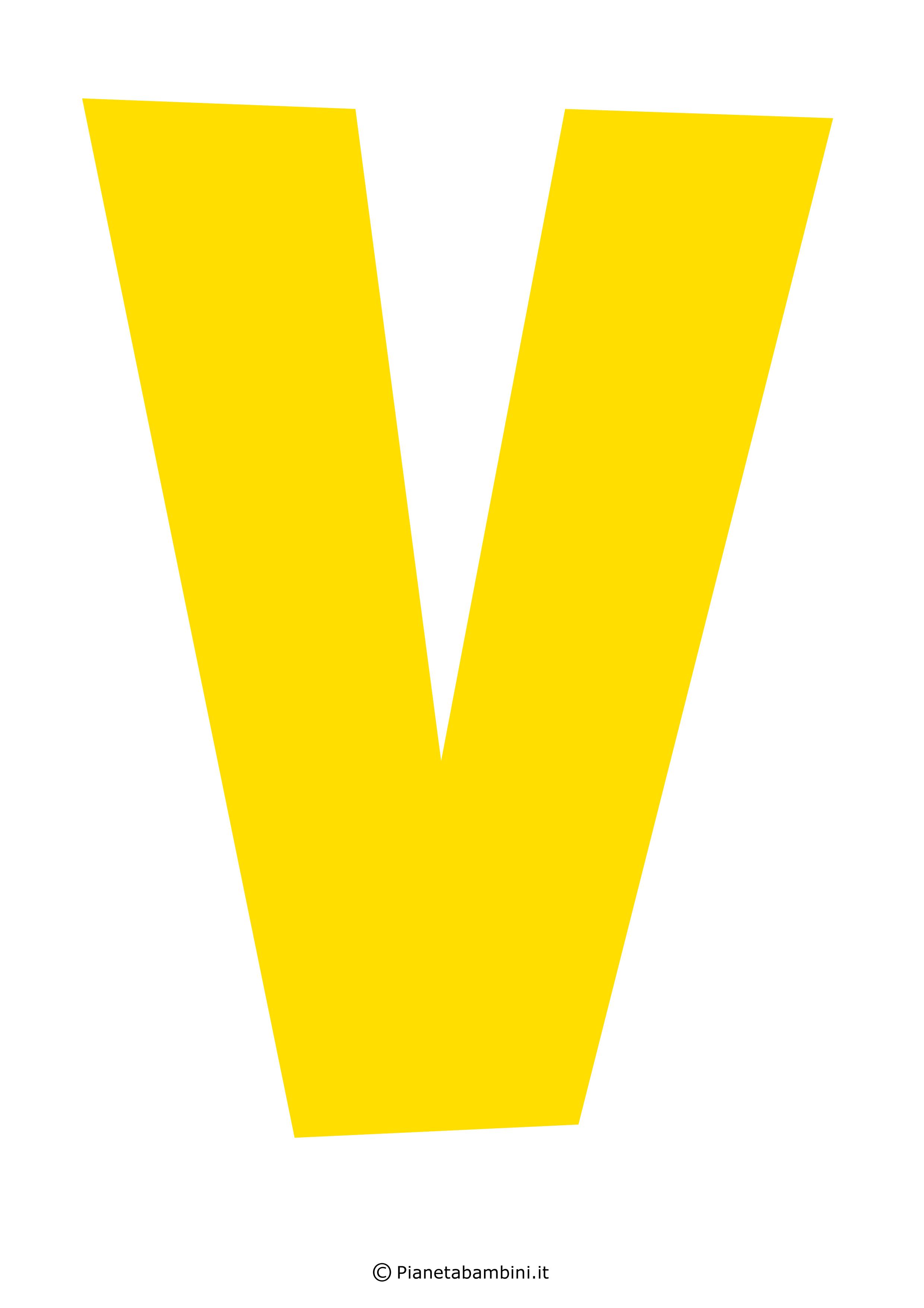 Lettera-V-Gialla