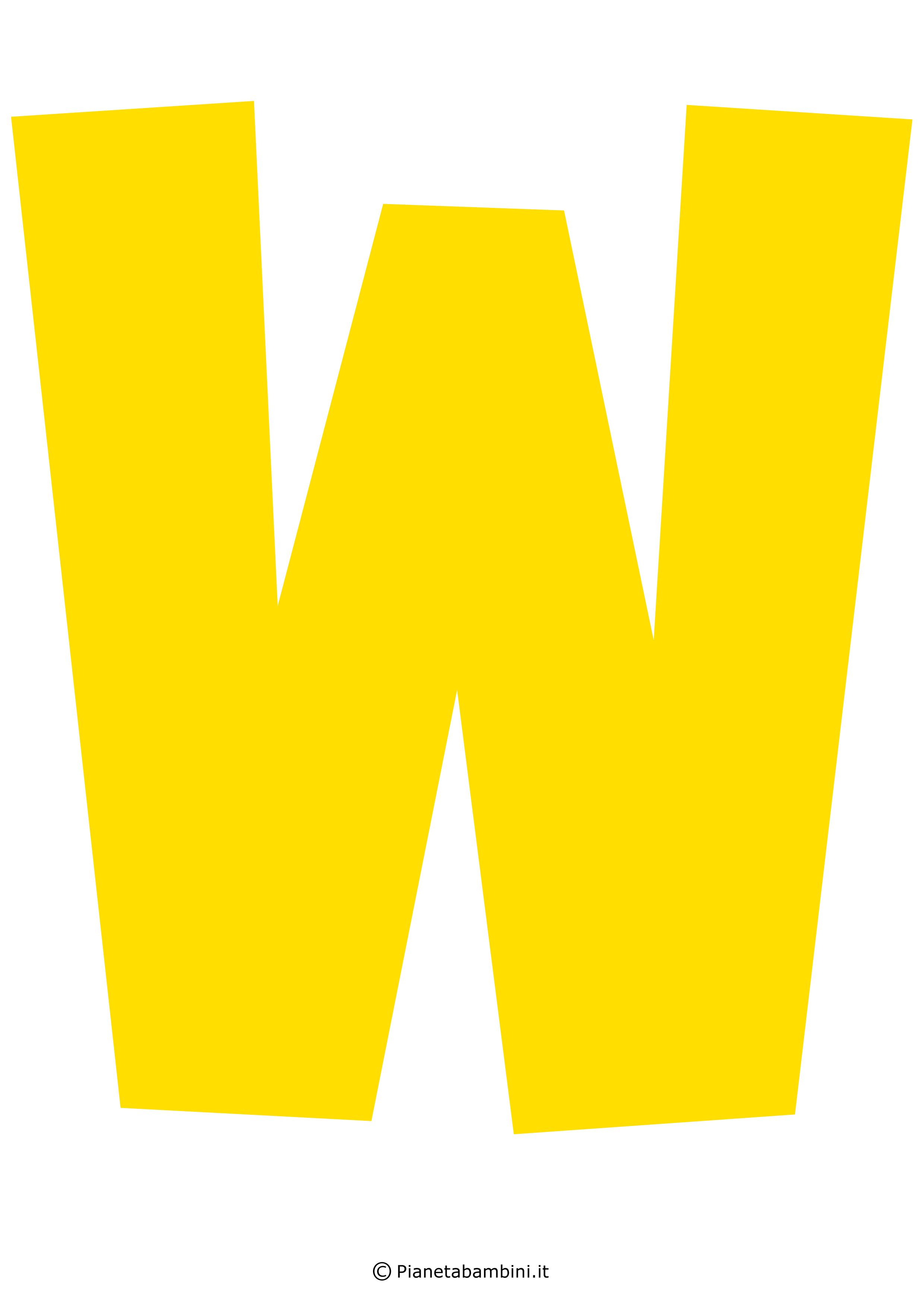 Lettera-W-Gialla