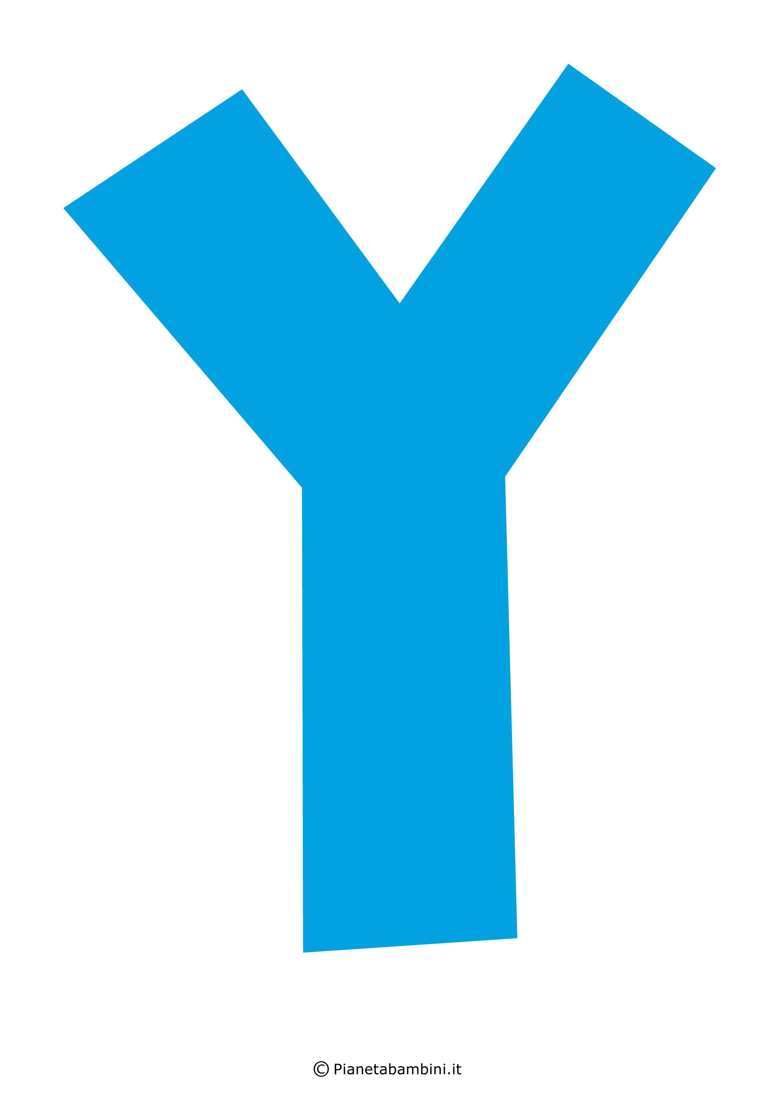 Lettera-Y-Azzurra