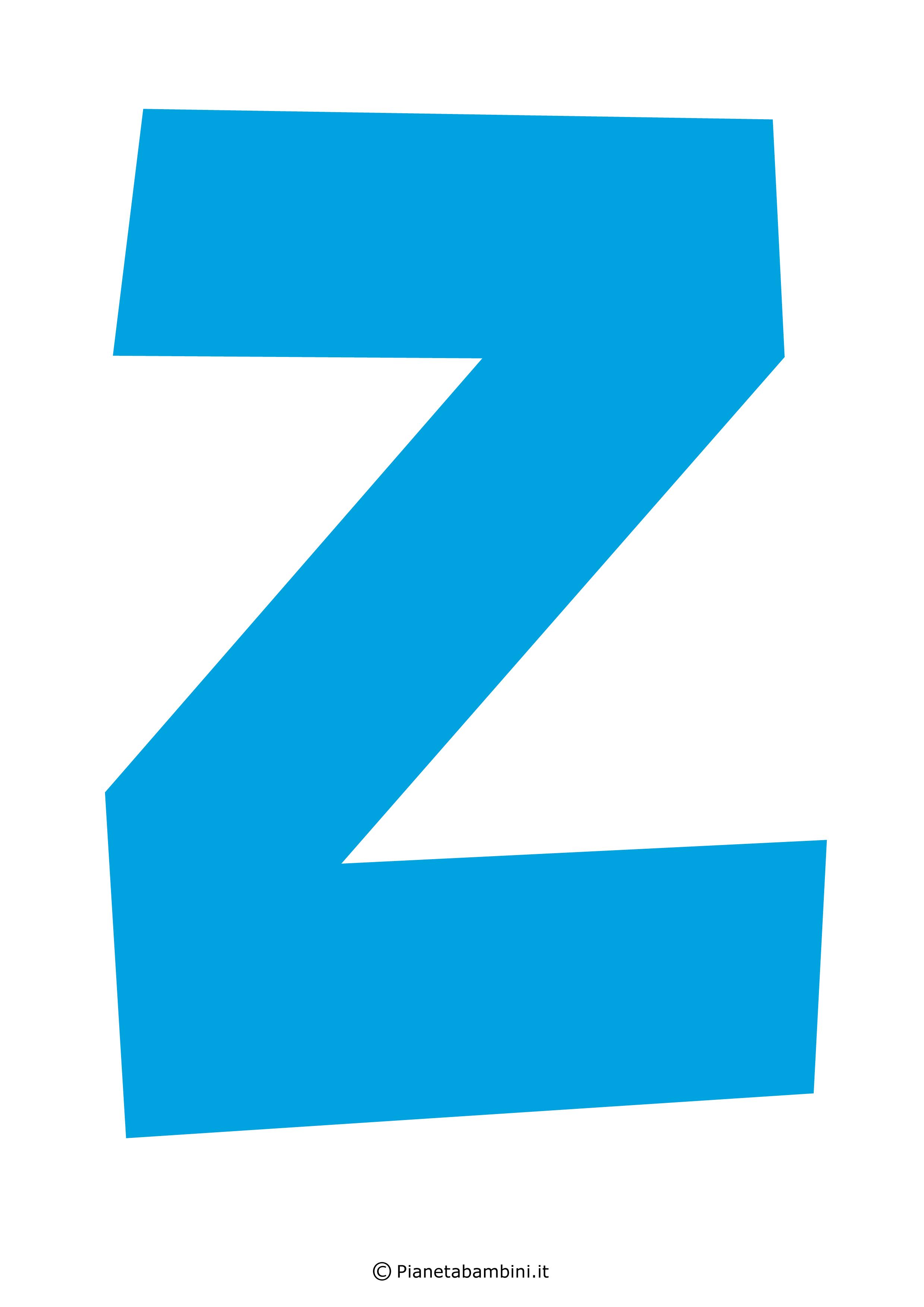 Lettera-Z-Azzurra