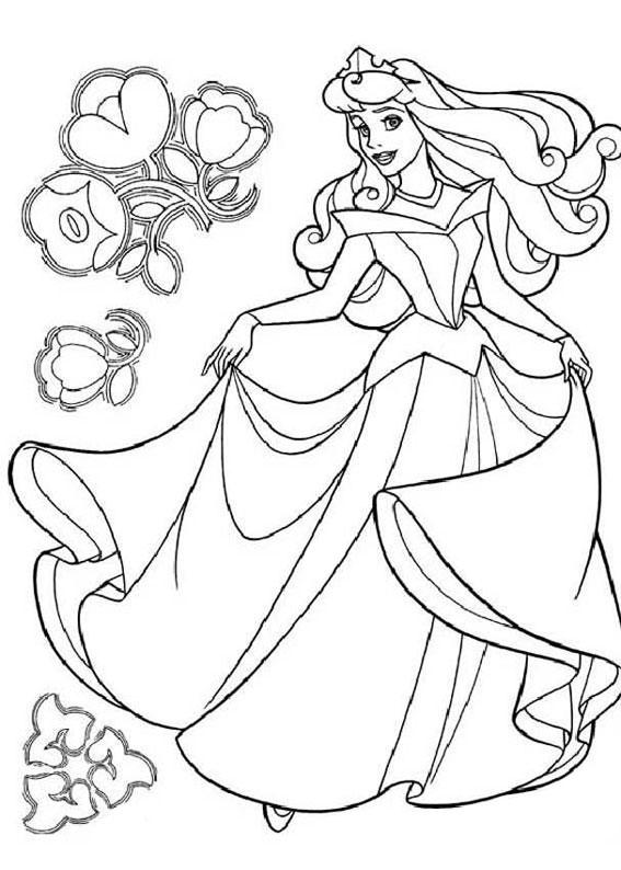 33 Disegni Della Principessa Aurora Da Colorare Pianetabambini It