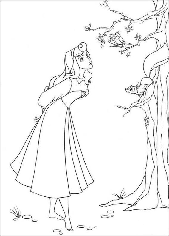 33 disegni della principessa aurora da colorare for Disegni della roma da colorare