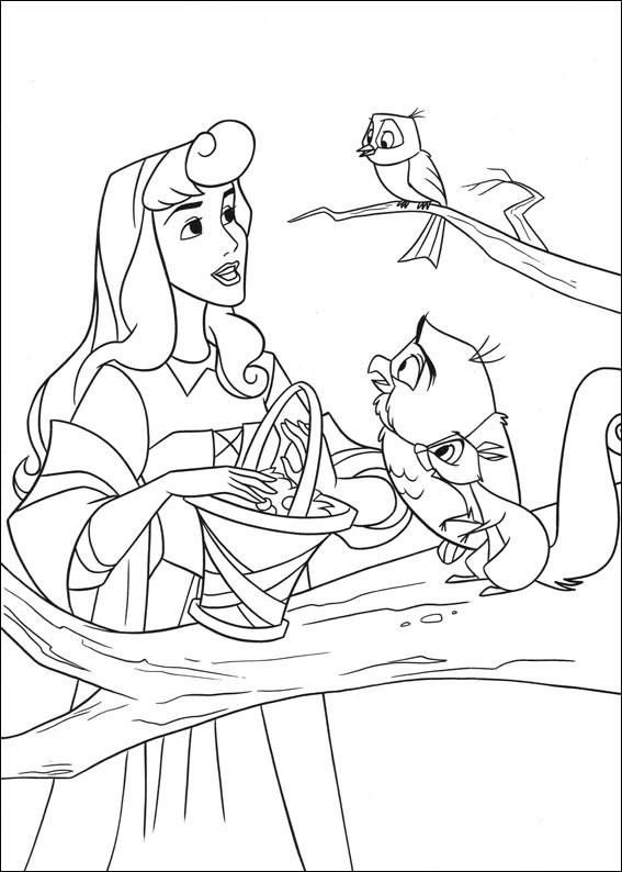 33 Disegni della Principessa Aurora