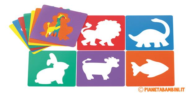 Stencil da stampare per bambini