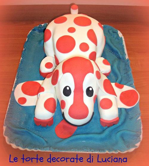 Foto della torta della Pimpa n.1