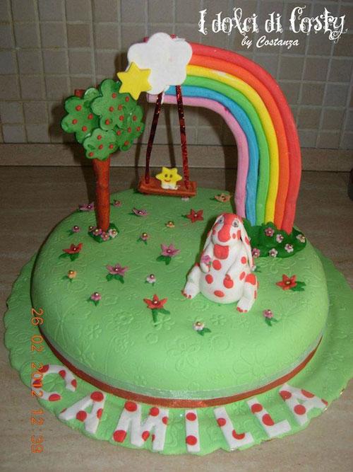 Foto della torta della Pimpa n.02