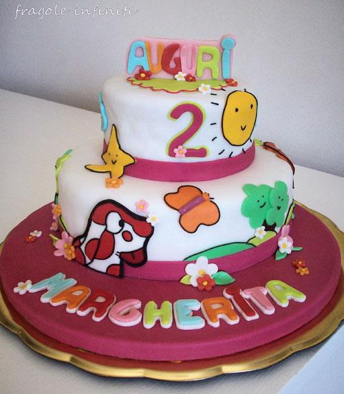 Foto della torta della Pimpa n.03