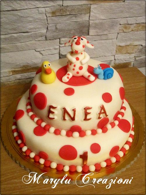 Foto della torta della Pimpa n.04