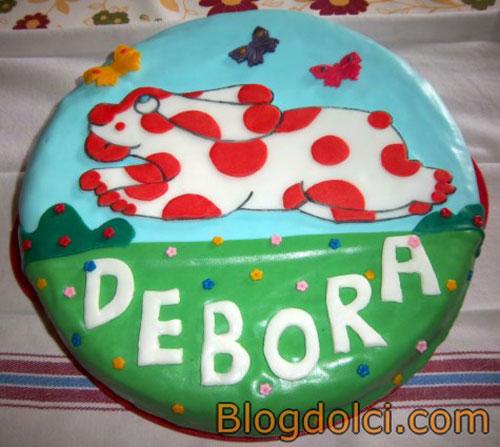 Foto della torta della Pimpa n.05