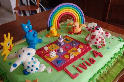 Foto della torta della Pimpa n.06