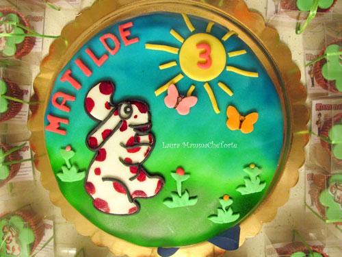 Foto della torta della Pimpa n.07