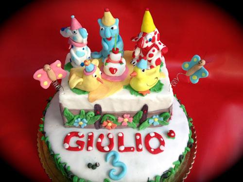 Foto della torta della Pimpa n.08