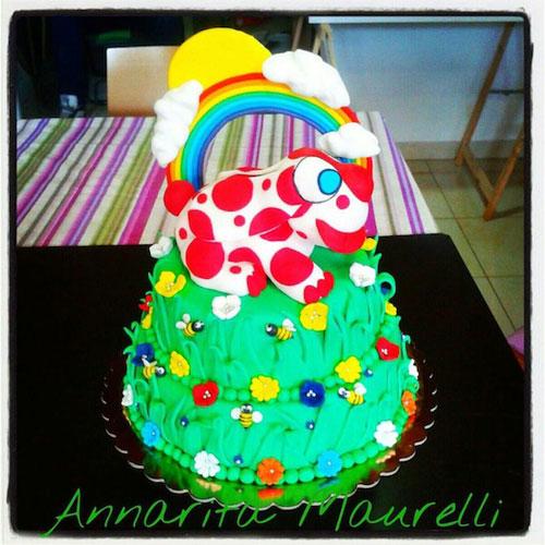 Foto della torta della Pimpa n.09