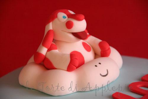 Foto della torta della Pimpa n.11