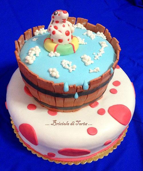Foto della torta della Pimpa n.12