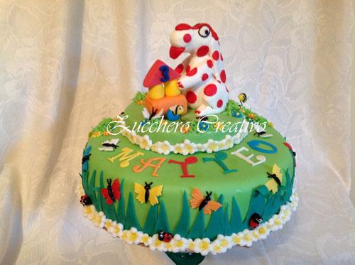 Foto della torta della Pimpa n.14