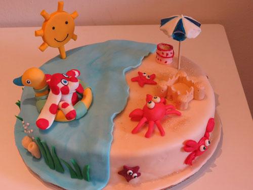 Foto della torta della Pimpa n.16