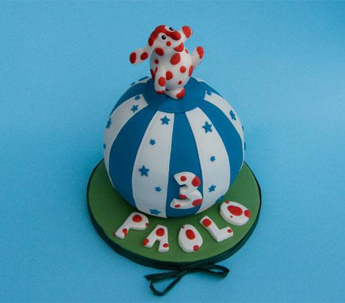 Foto della torta della Pimpa n.18