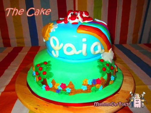 Foto della torta della Pimpa n.19