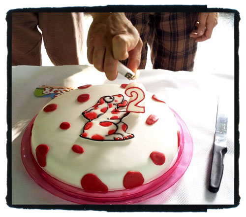 Foto della torta della Pimpa n.20